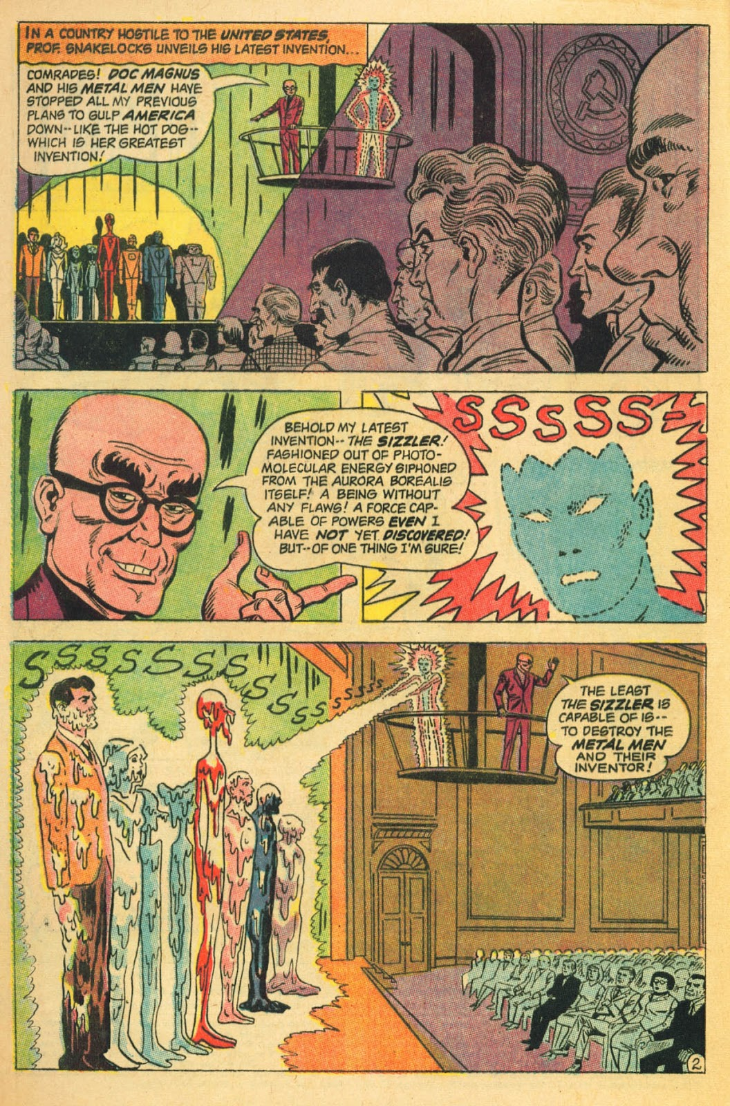 Metal Men (1963) issue 22 - Page 4