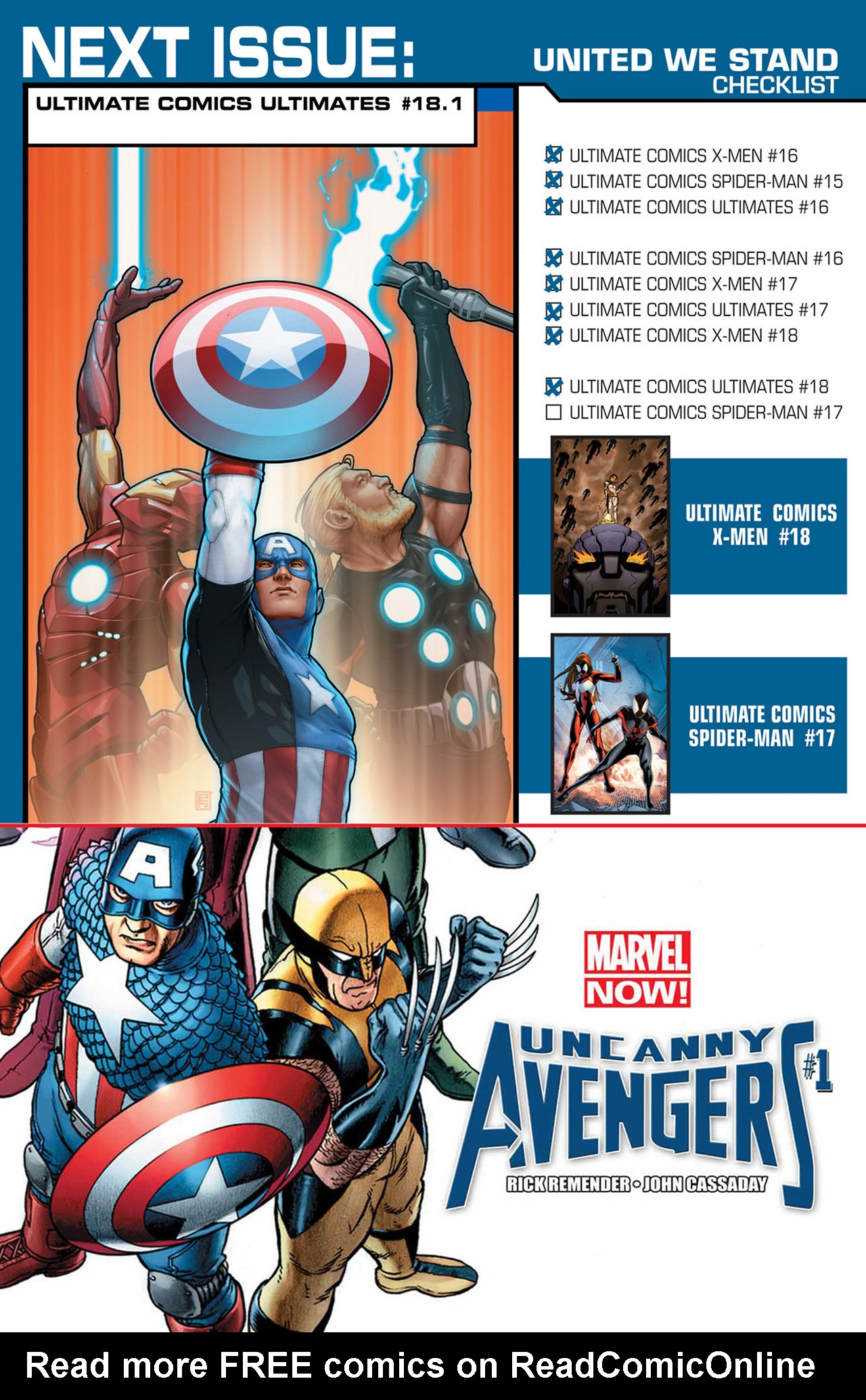 Read online Ultimate Comics Ultimates comic -  Issue #18 - 24