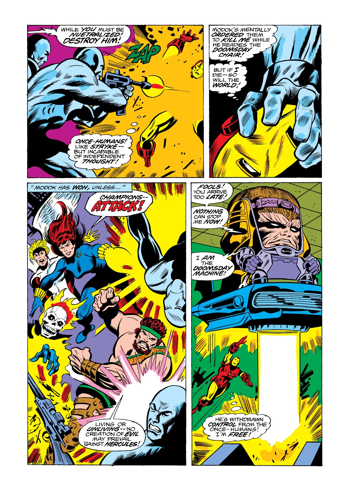 Read online Marvel Masterworks: The Invincible Iron Man comic -  Issue # TPB 11 (Part 3) - 109