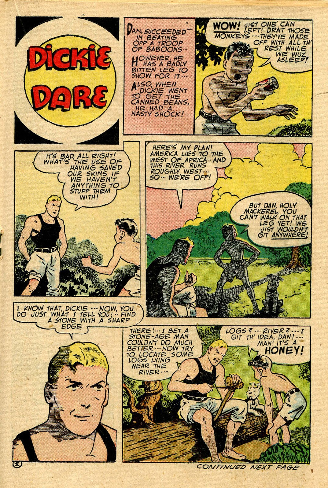 Read online Famous Funnies comic -  Issue #116 - 29