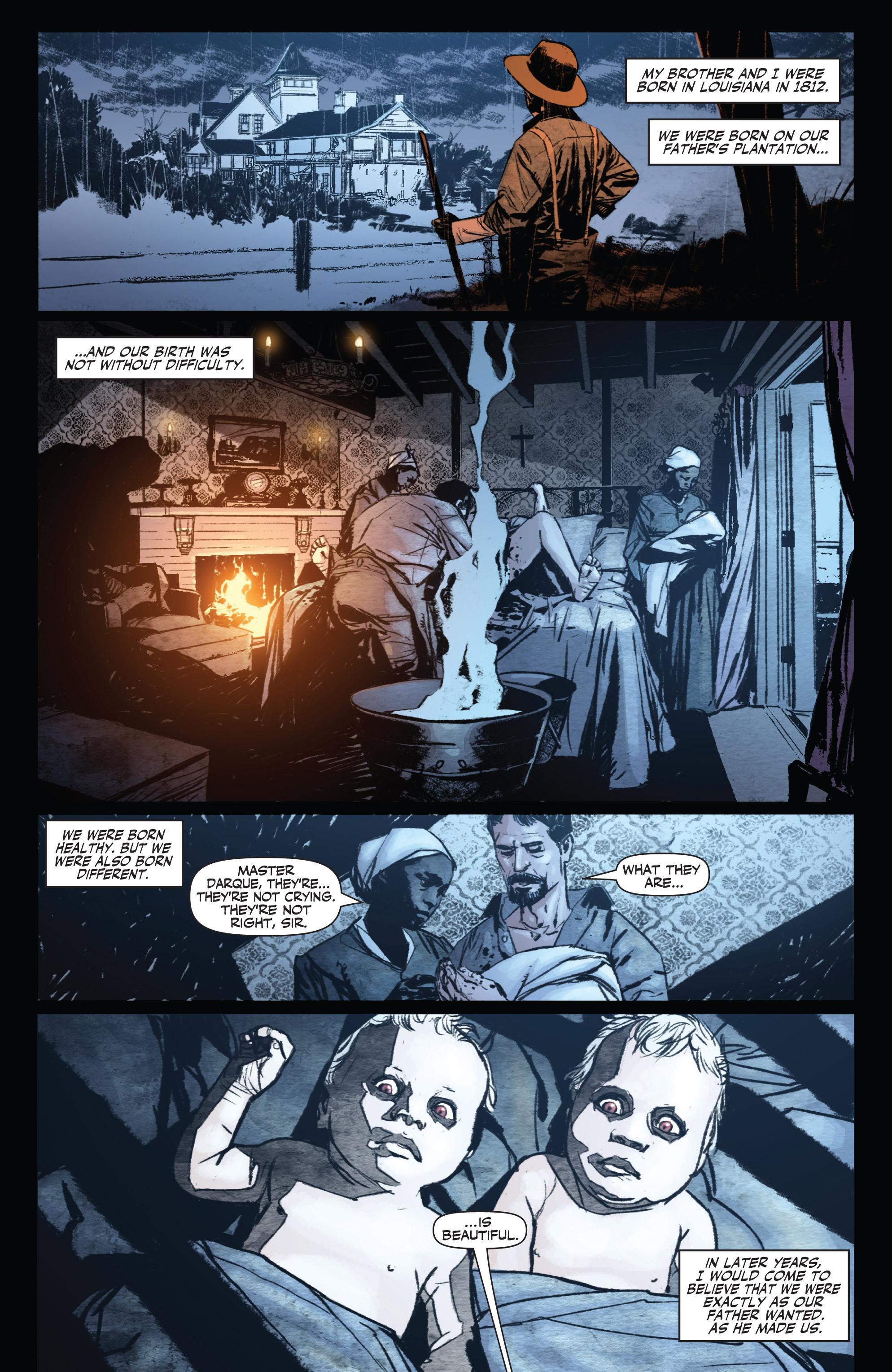 Read online Shadowman (2012) comic -  Issue #0 - 4