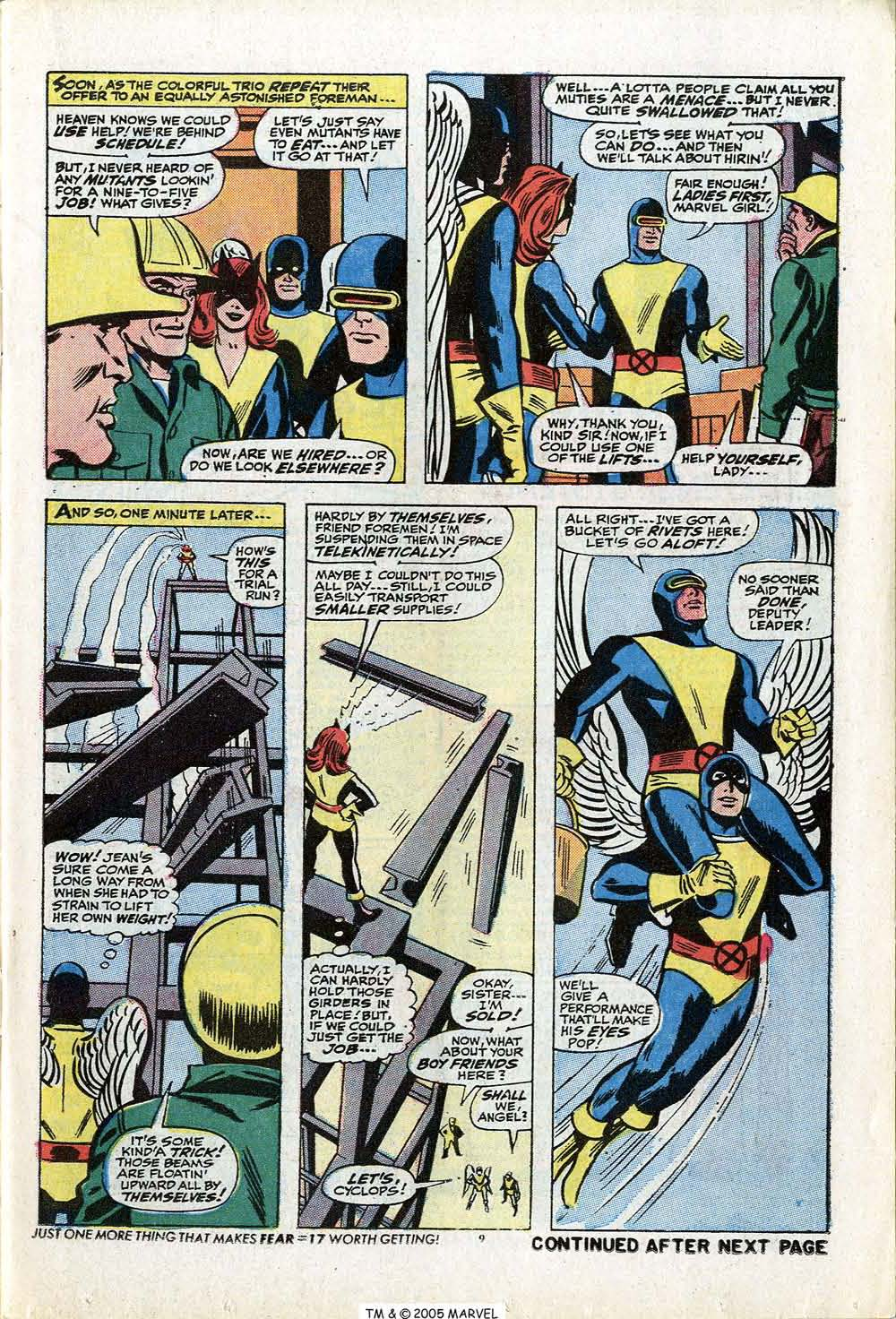 Read online Uncanny X-Men (1963) comic -  Issue #84 - 11