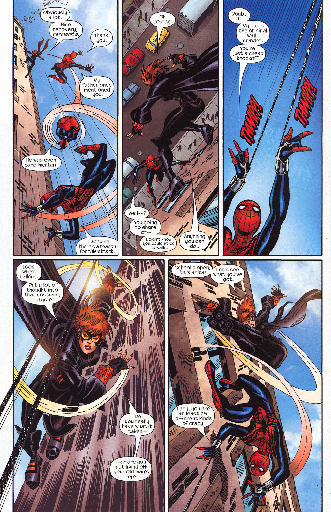 Read online Amazing Spider-Girl comic -  Issue #19 - 23
