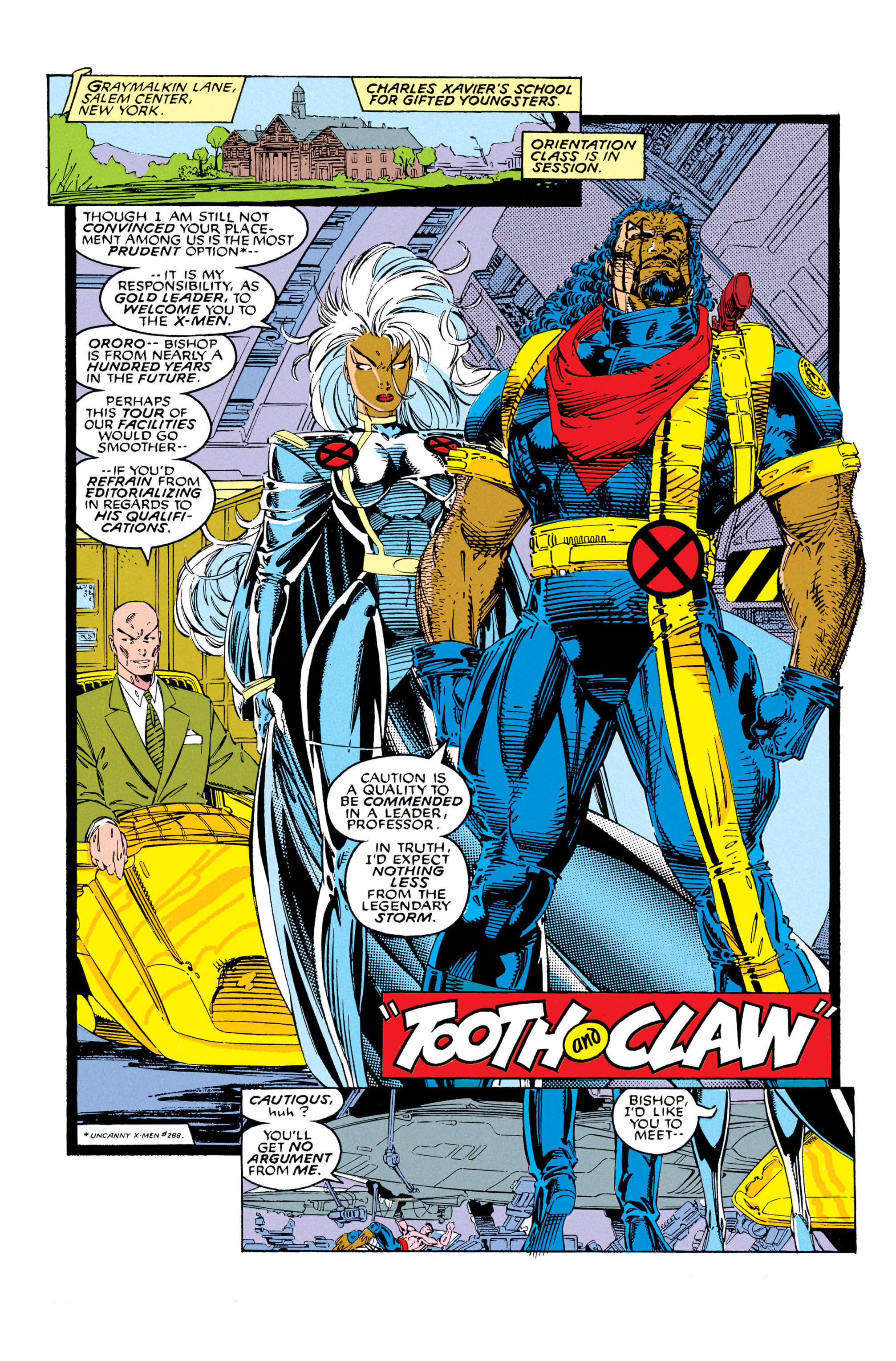 X-Men (1991) 8 Page 2