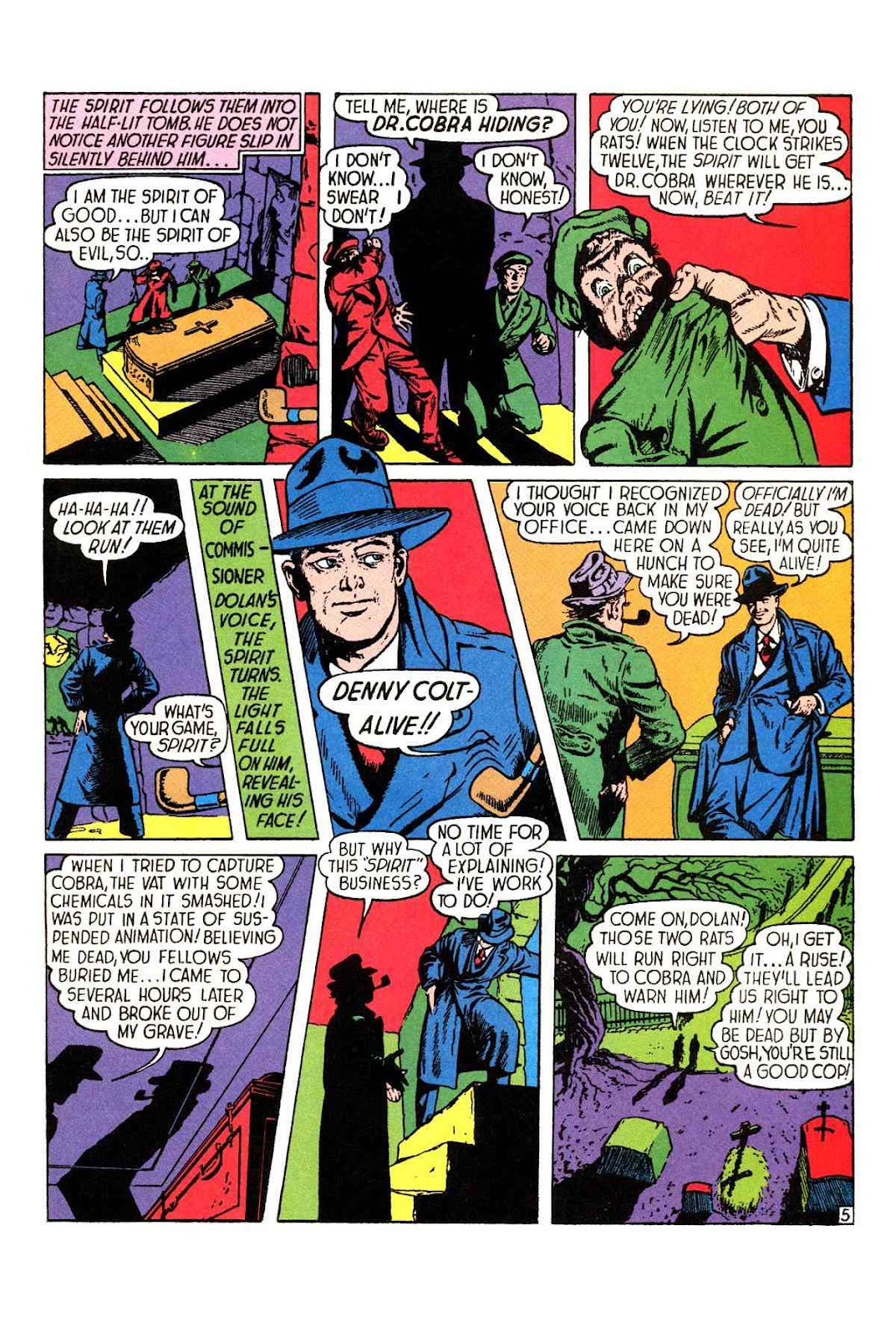 Read online Will Eisner's The Spirit Archives comic -  Issue # TPB 1 (Part 1) - 6
