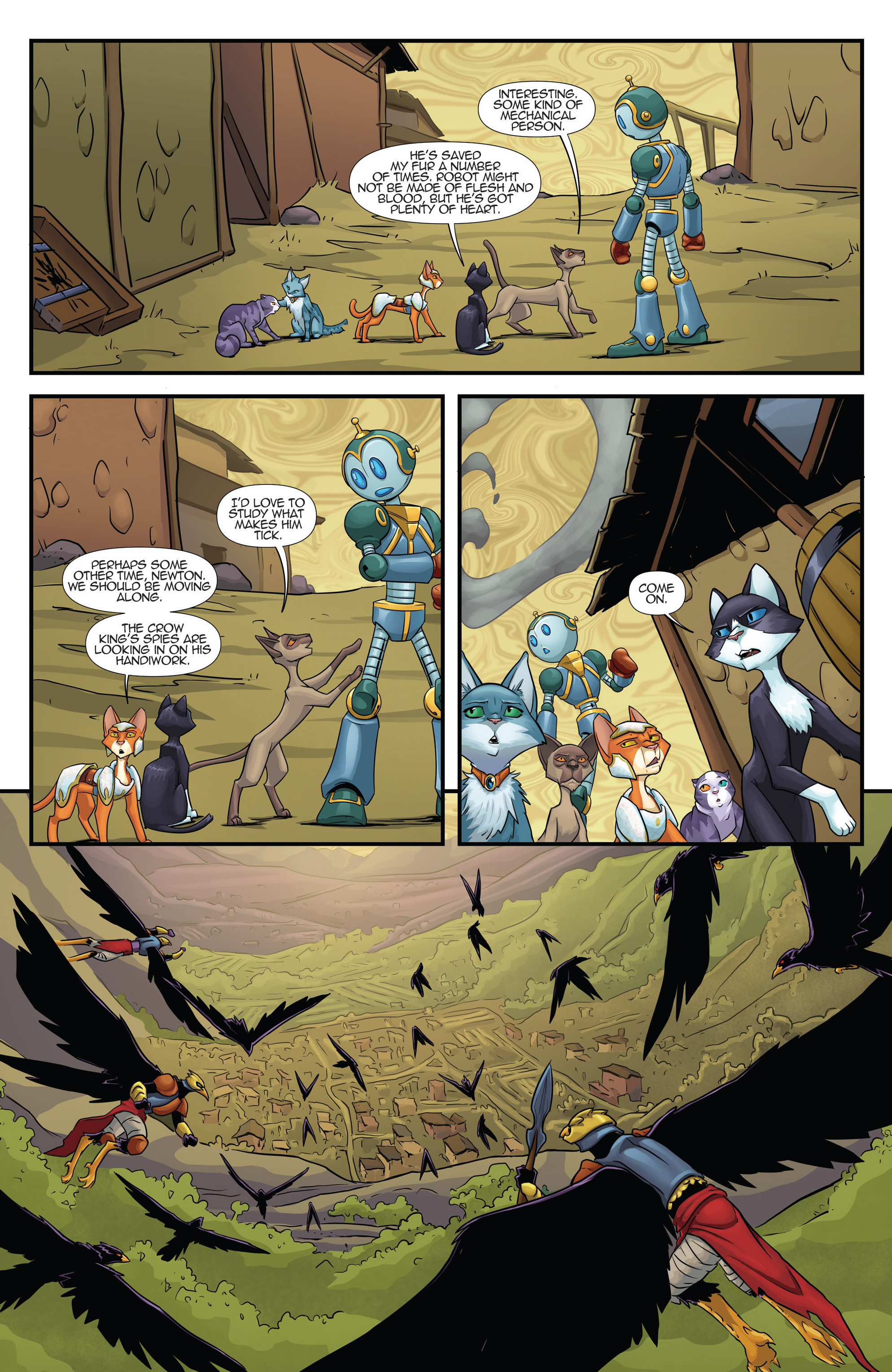 Read online Hero Cats comic -  Issue #17 - 16