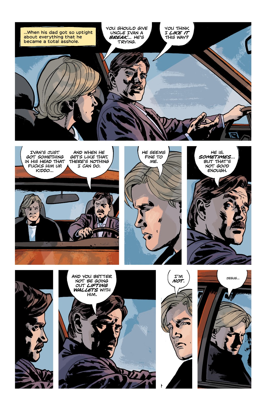 Read online Criminal (2019) comic -  Issue #9 - 10