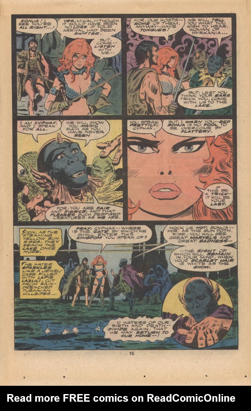 Red Sonja (1977) issue 4 - Page 10