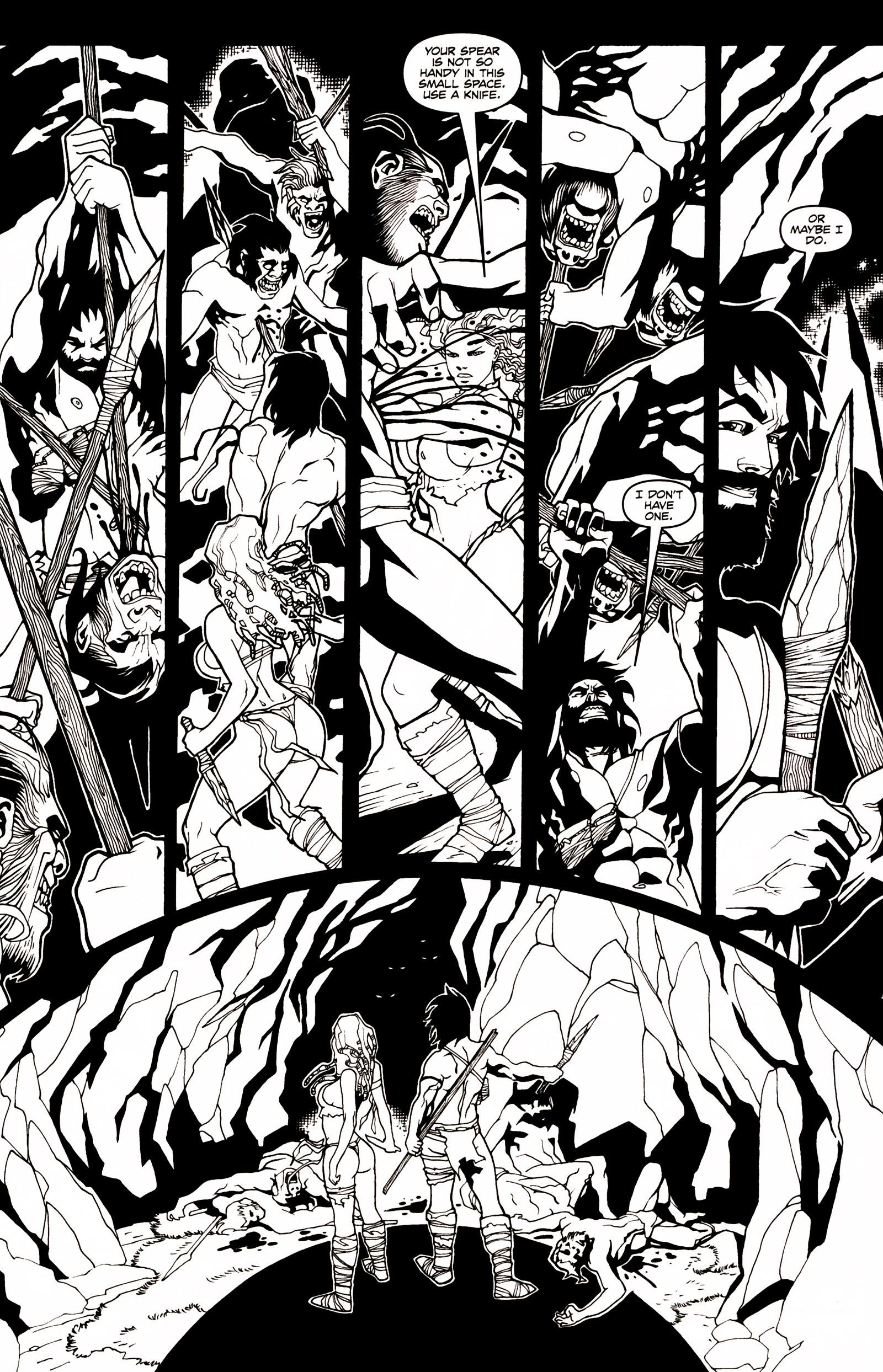 Read online Jungle Fantasy (2002) comic -  Issue # _Annual 1 - 22