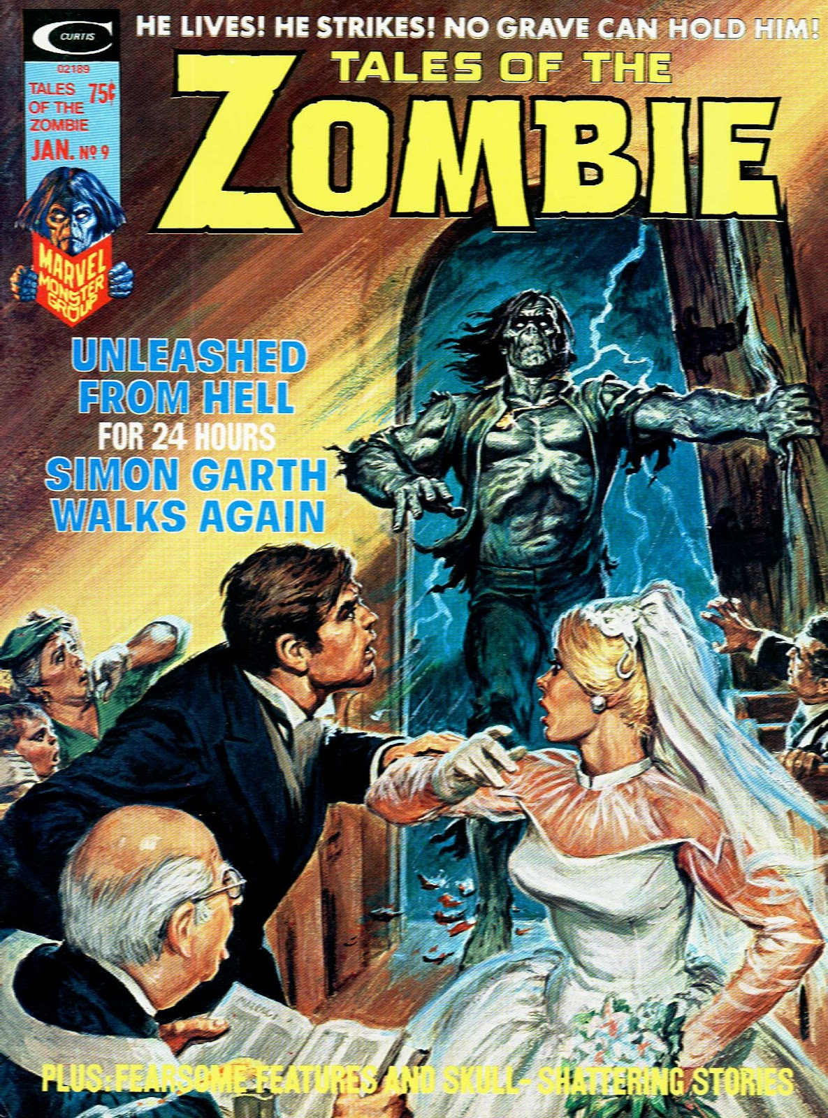 Zombie (1973) issue 9 - Page 1