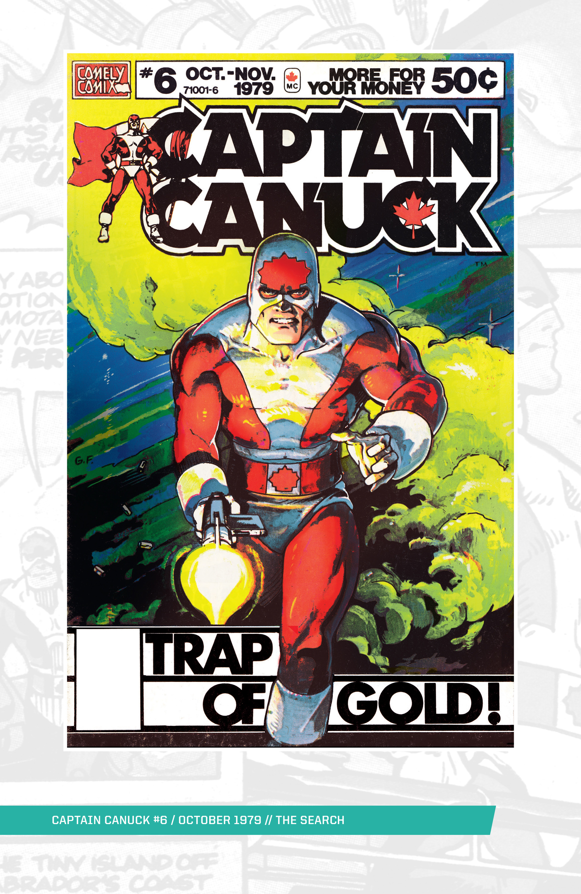 Captain Canuck (1975) 6 Page 1