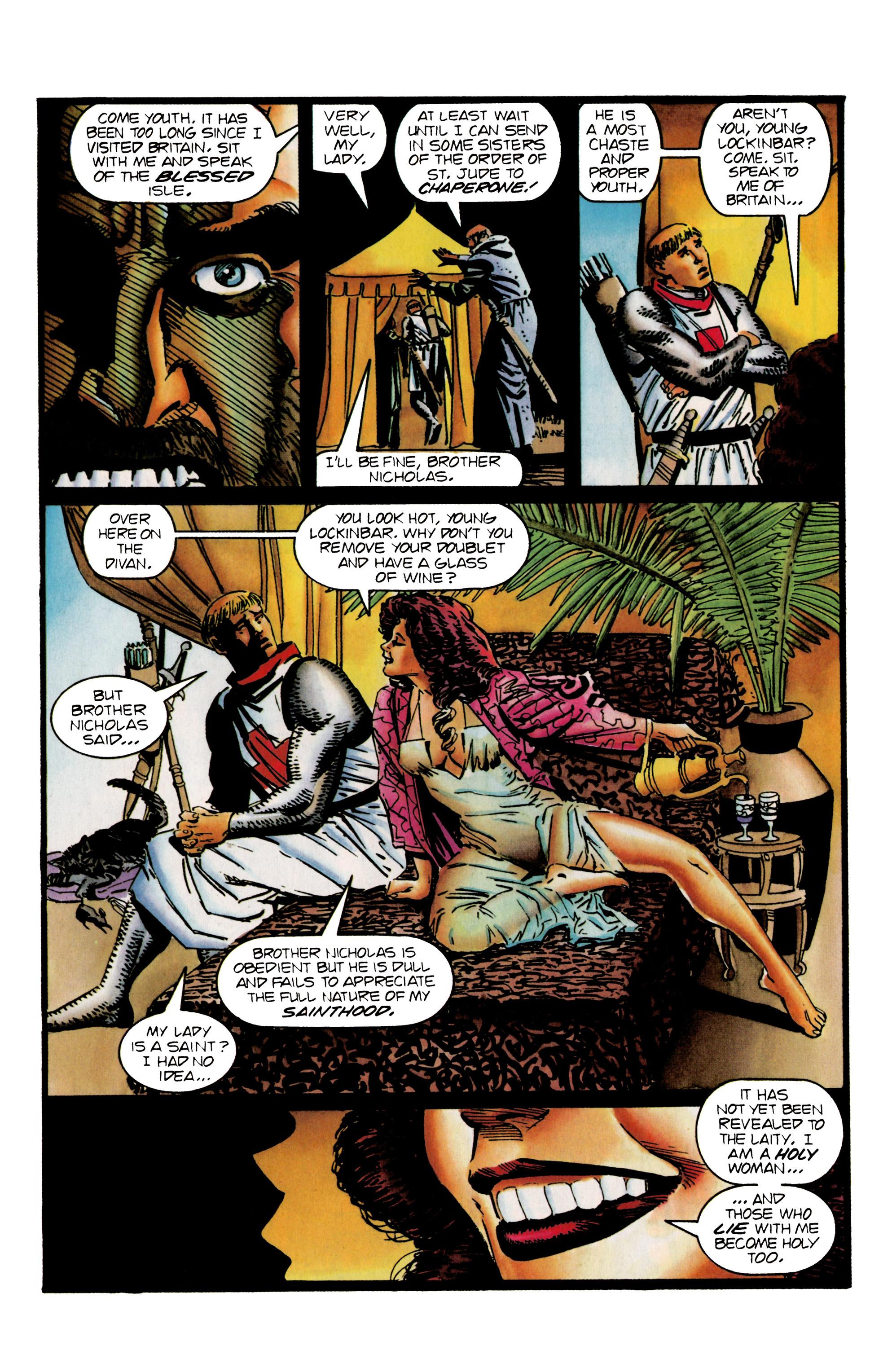 Read online Eternal Warrior (1992) comic -  Issue #25 - 6