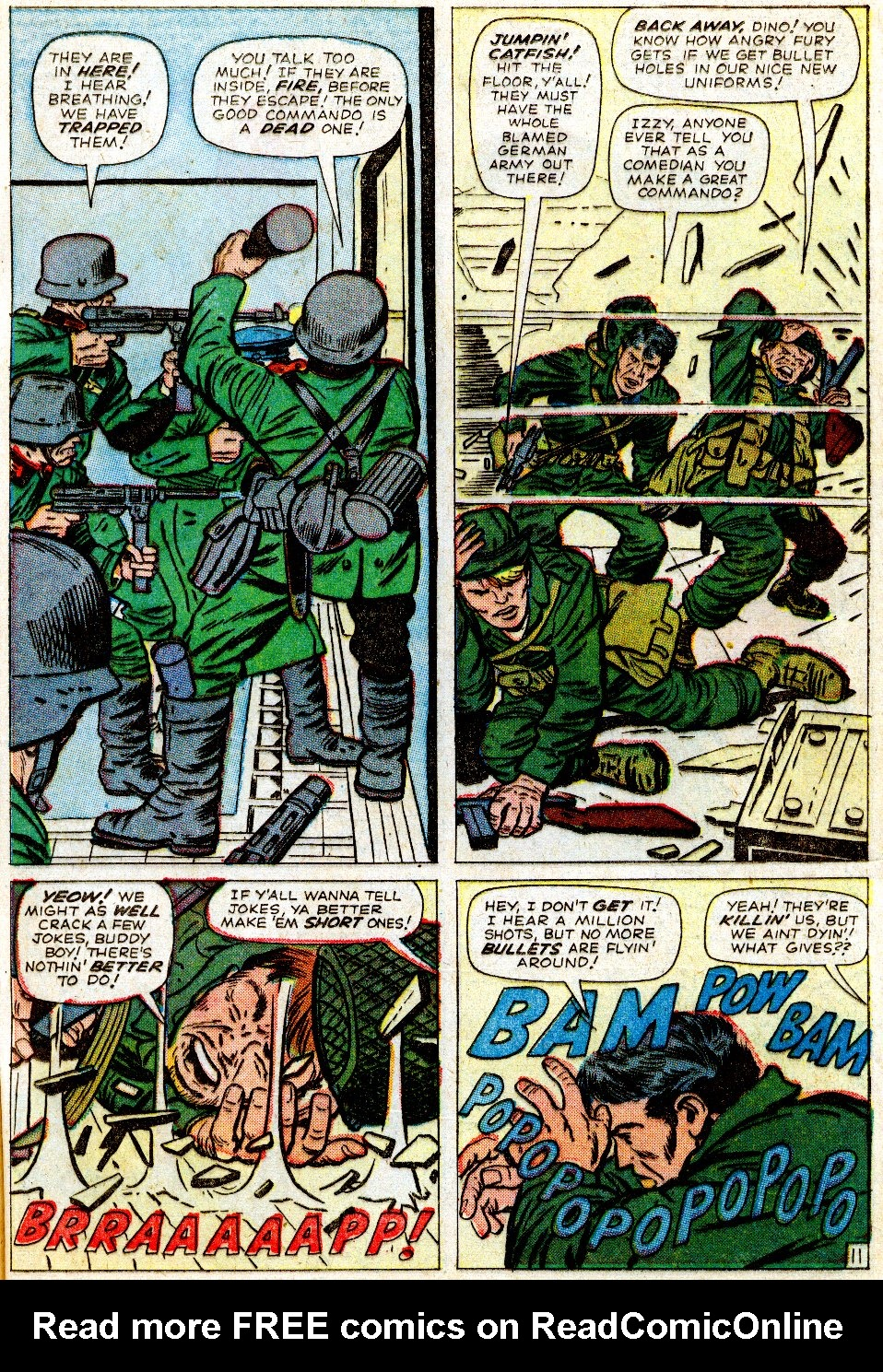 Read online Sgt. Fury comic -  Issue #1 - 17