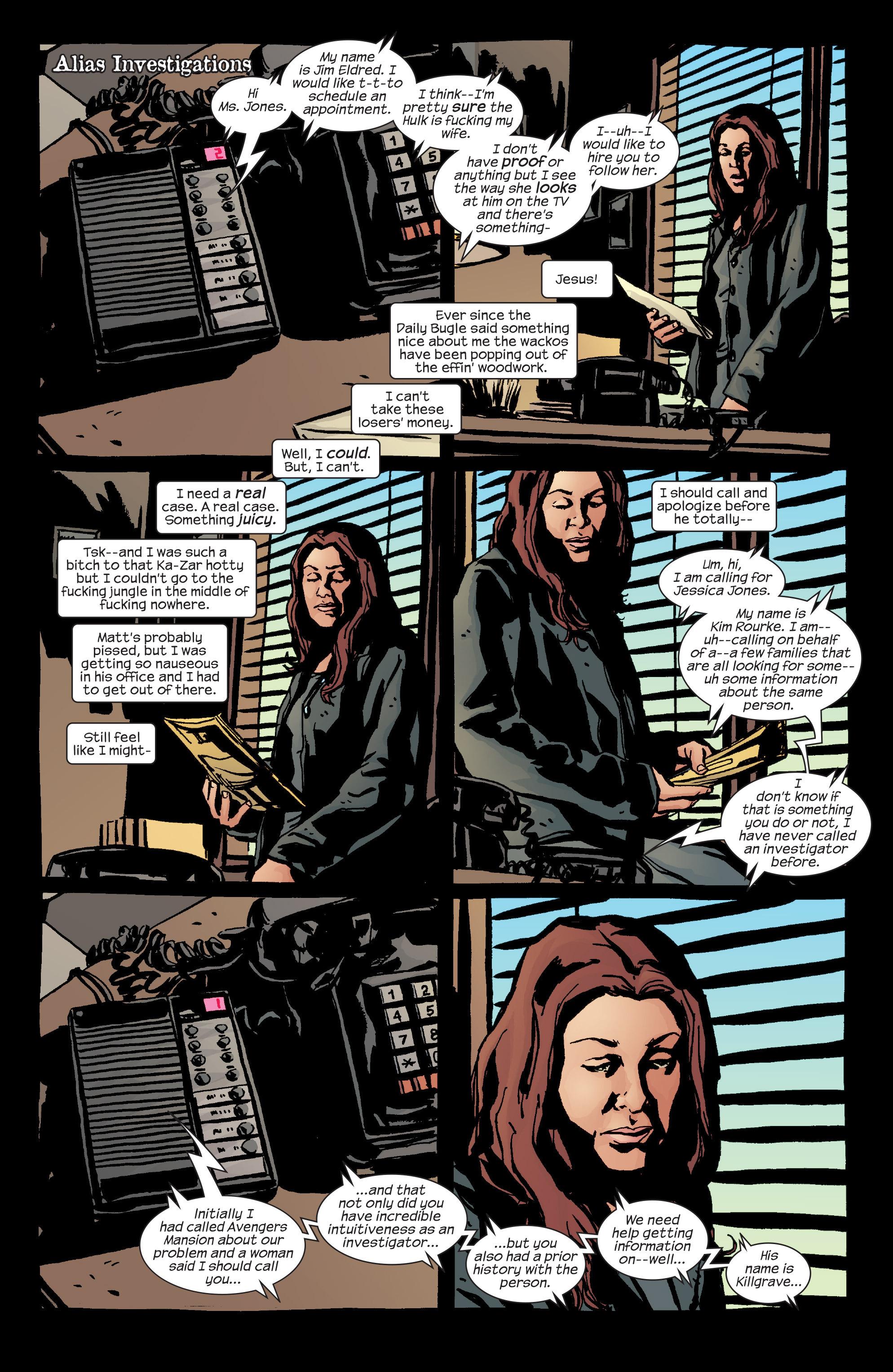 Read online Alias comic -  Issue #24 - 7