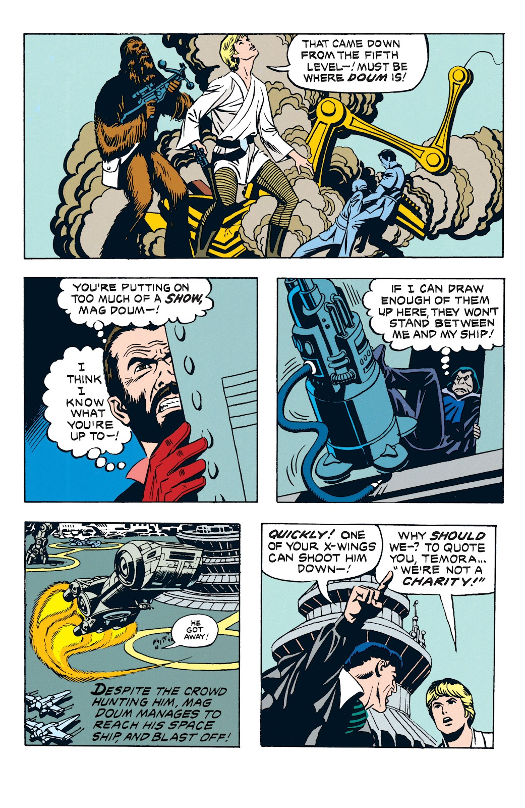 Read online Star Wars Legends: The Newspaper Strips - Epic Collection comic -  Issue # TPB (Part 3) - 46