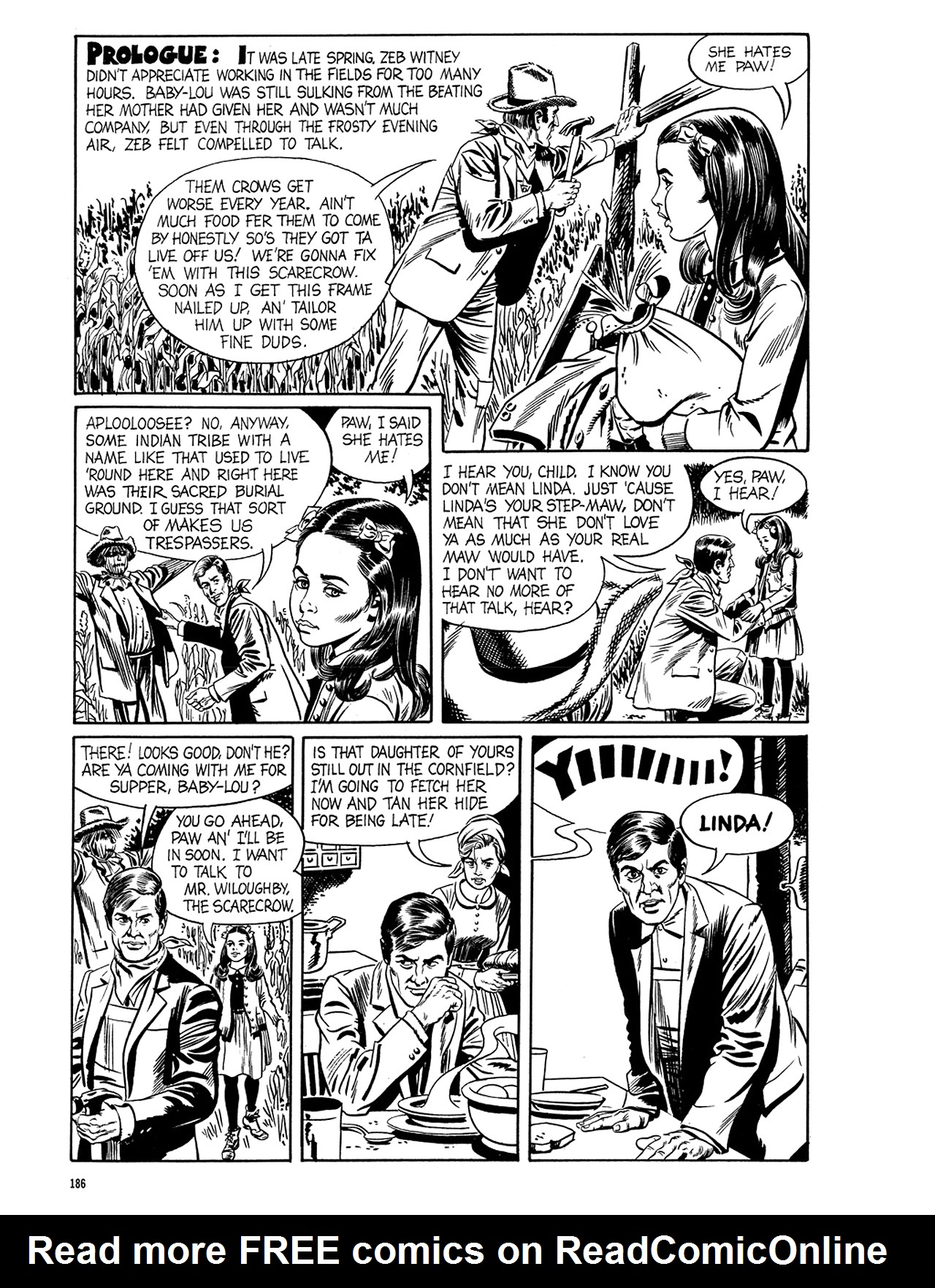 Read online Eerie Archives comic -  Issue # TPB 5 - 187