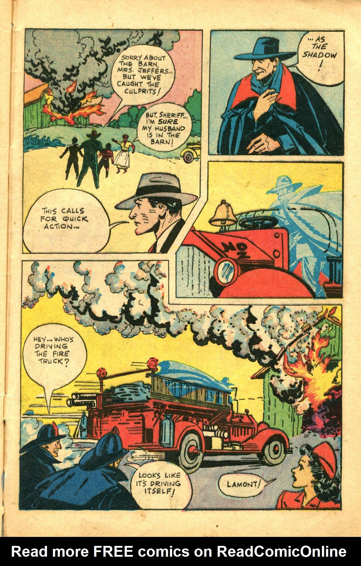 Read online Shadow Comics comic -  Issue #78 - 45