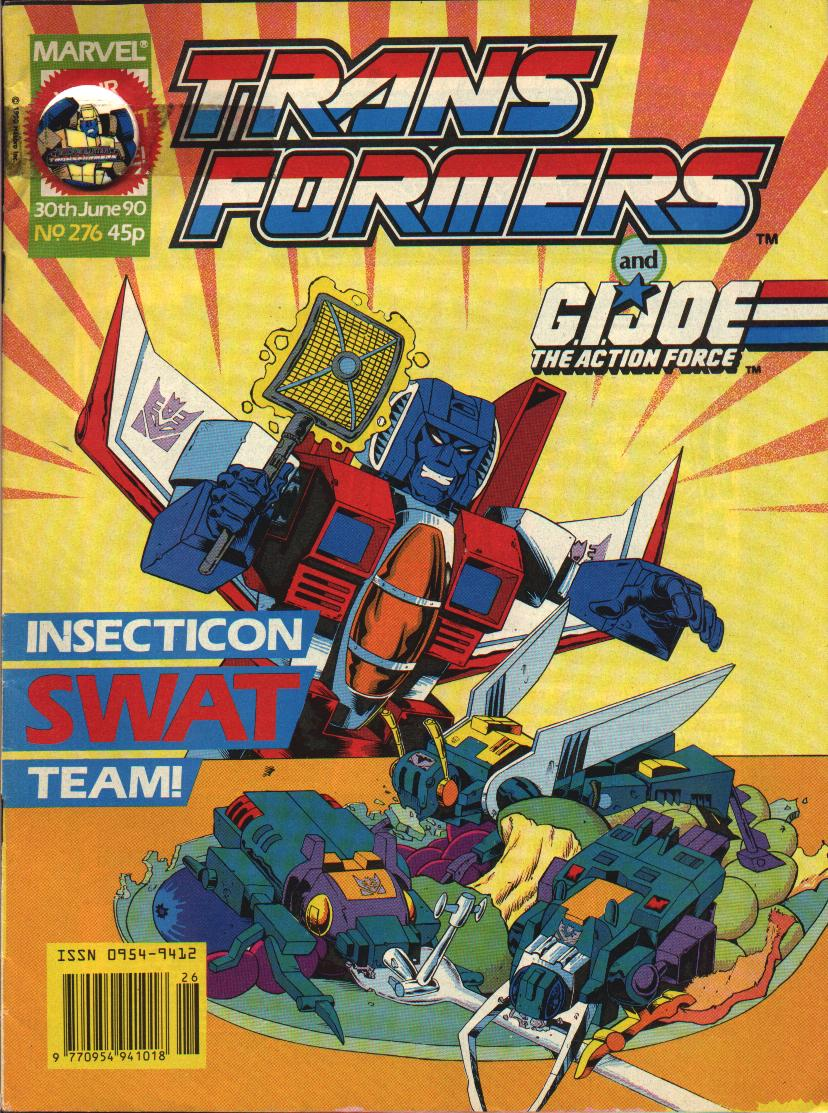 The Transformers (UK) 276 Page 1