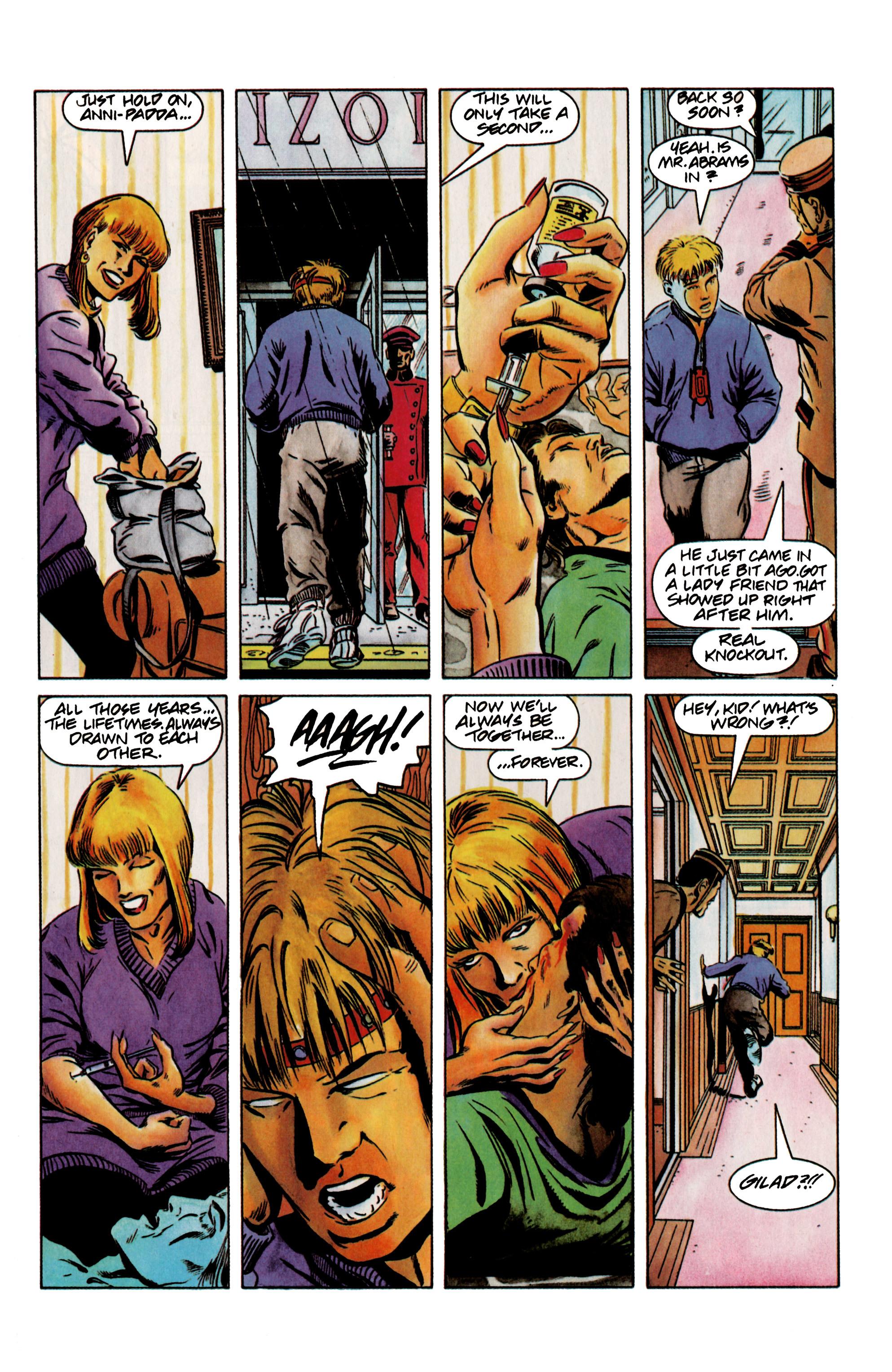 Read online Eternal Warrior (1992) comic -  Issue #12 - 21