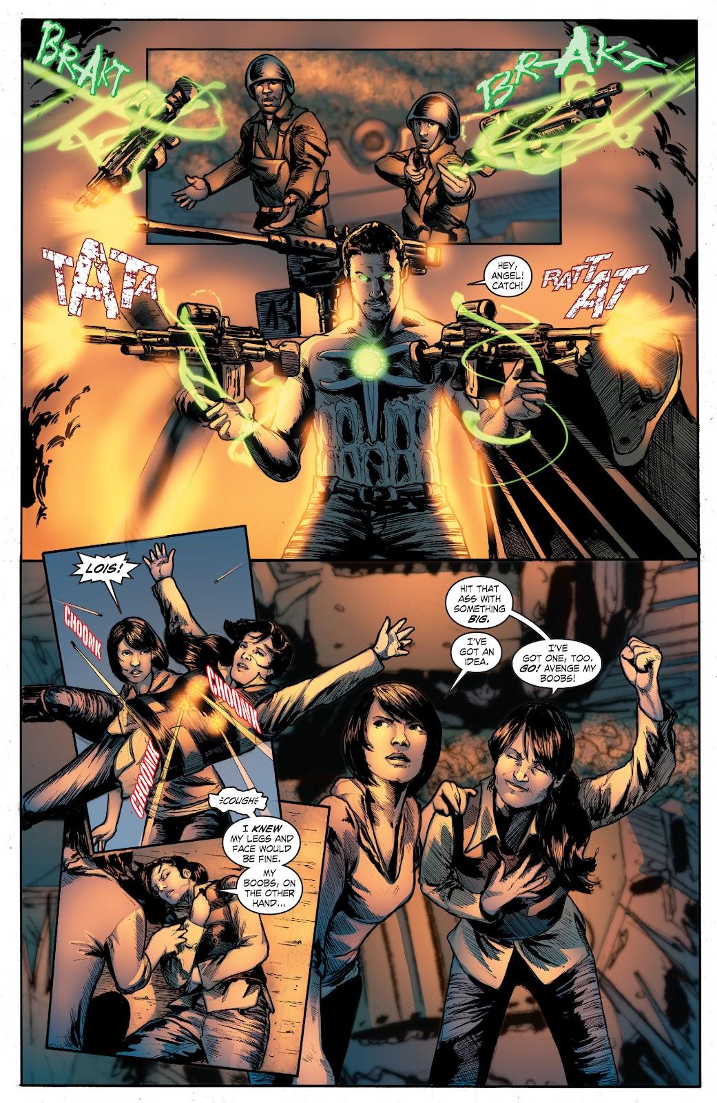 Read online Smallville Season 11 [II] comic -  Issue # TPB 4 - 137