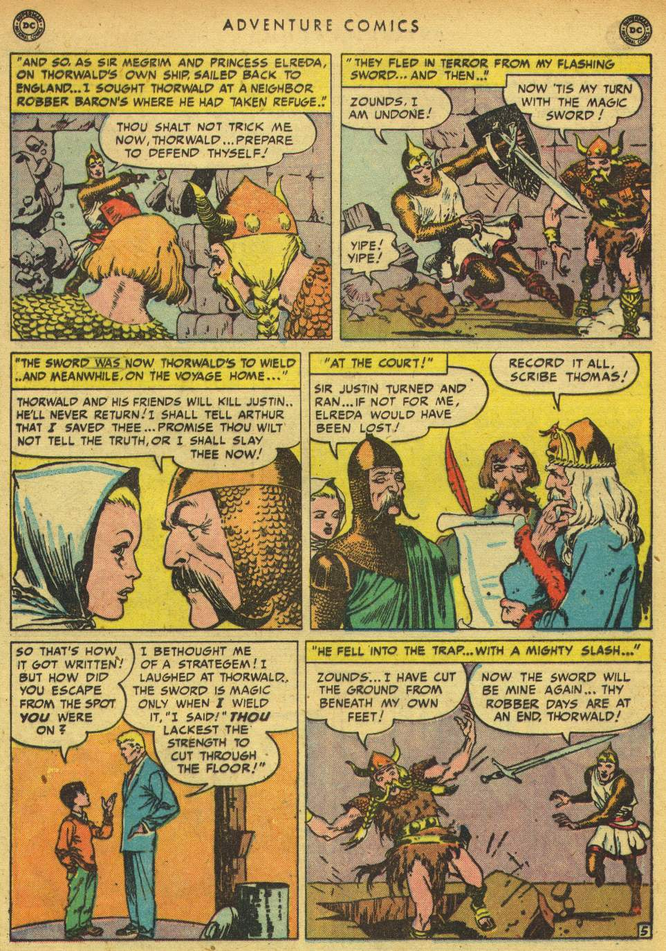 Read online Adventure Comics (1938) comic -  Issue #150 - 34