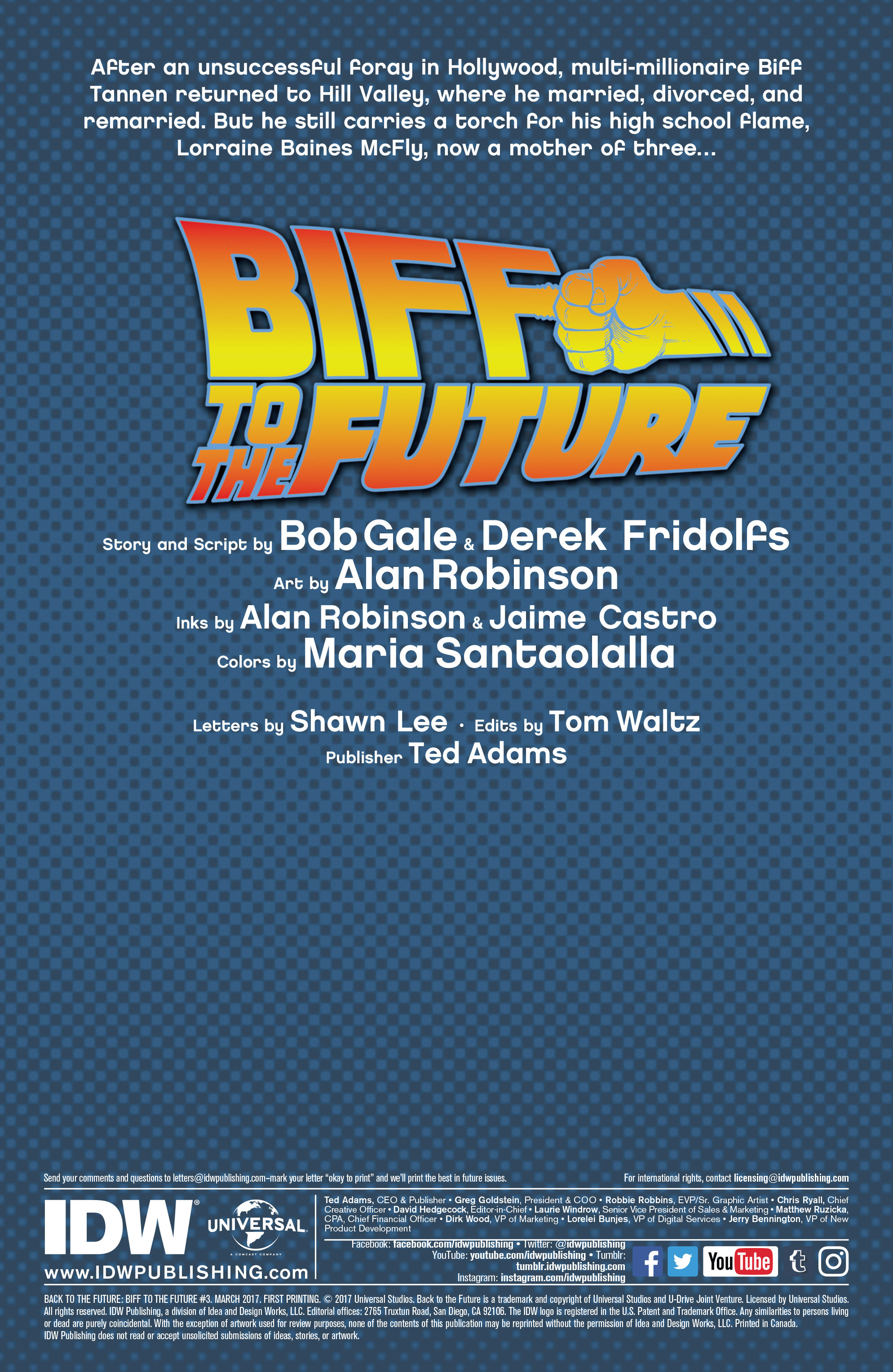 Read online Back to the Future: Biff to the Future comic -  Issue #3 - 2