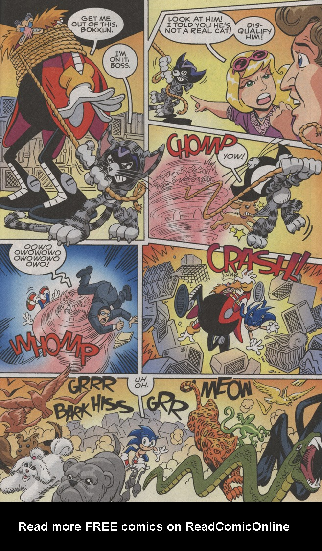 Read online Sonic X comic -  Issue #36 - 25