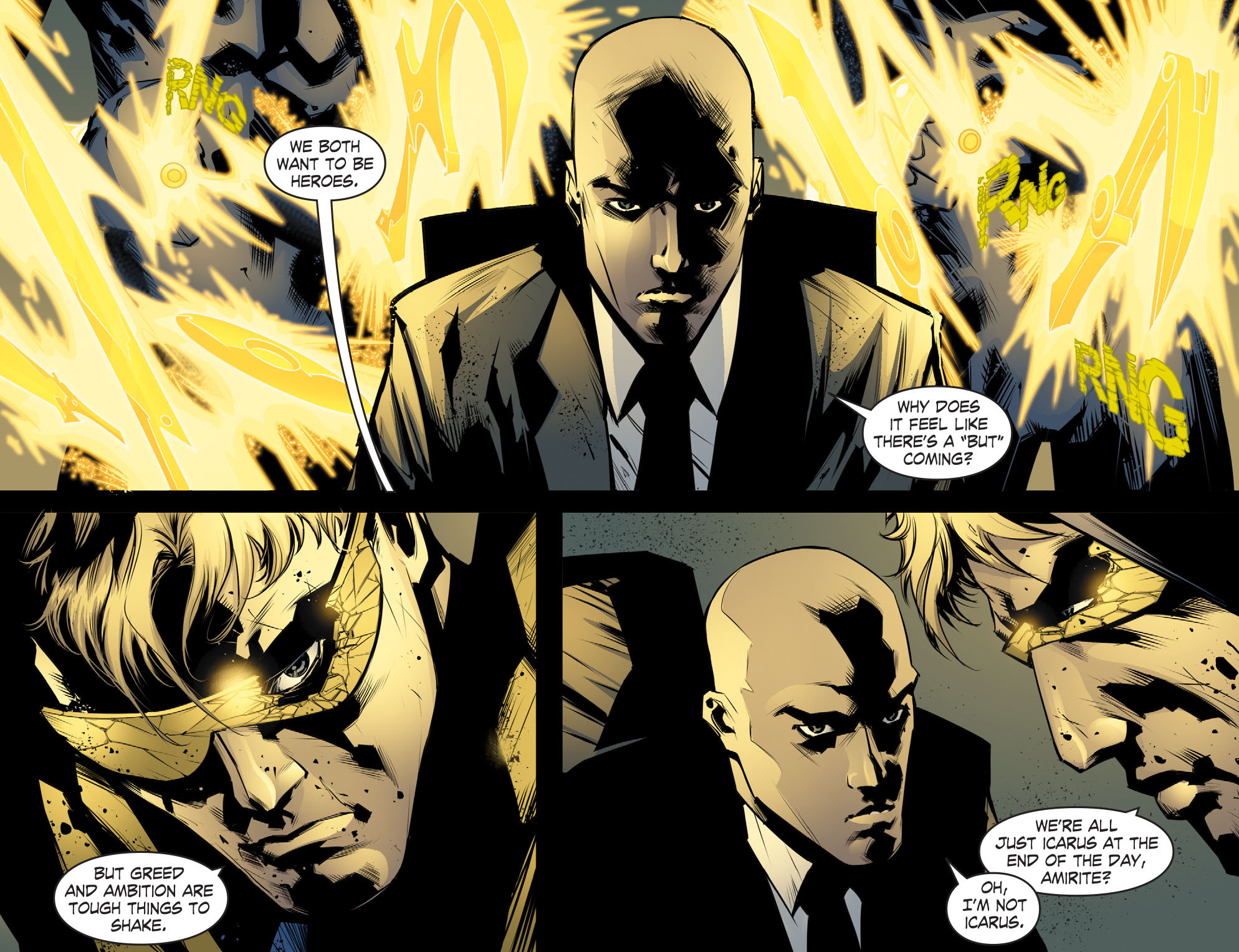 Read online Smallville: Chaos [II] comic -  Issue #8 - 5