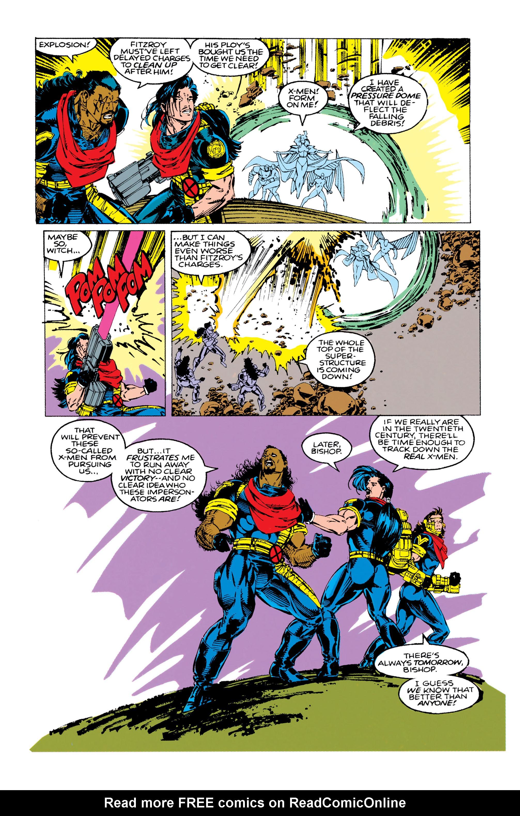 Read online Uncanny X-Men (1963) comic -  Issue #283 - 19