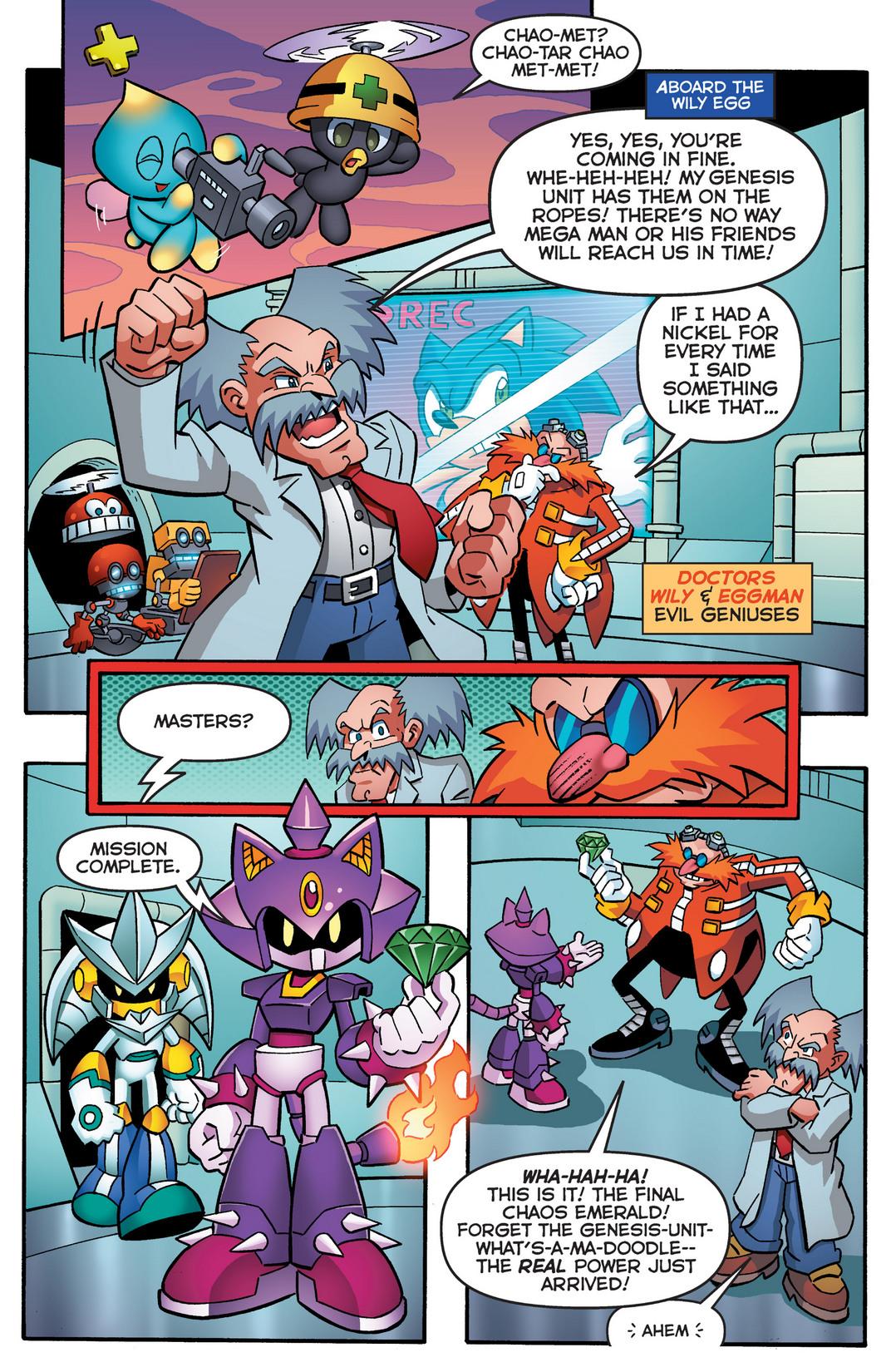 Read online Sonic Mega Man Worlds Collide comic -  Issue # Vol 2 - 16