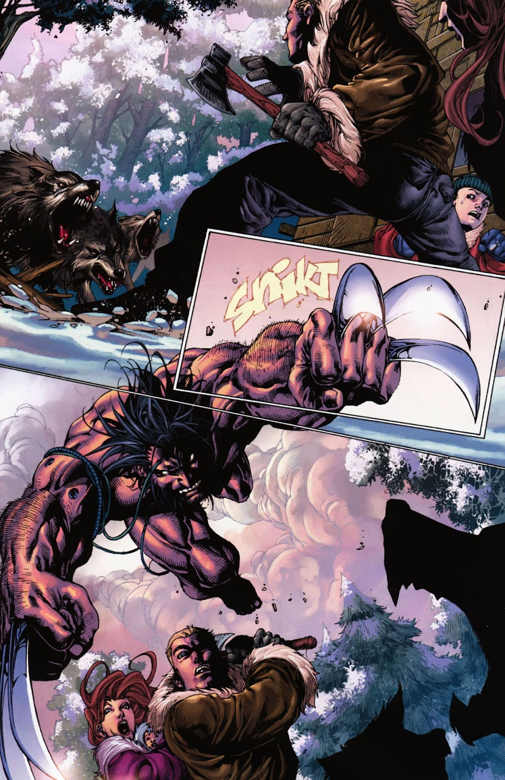 Read online Wolverine (2003) comic -  Issue #900 - 100