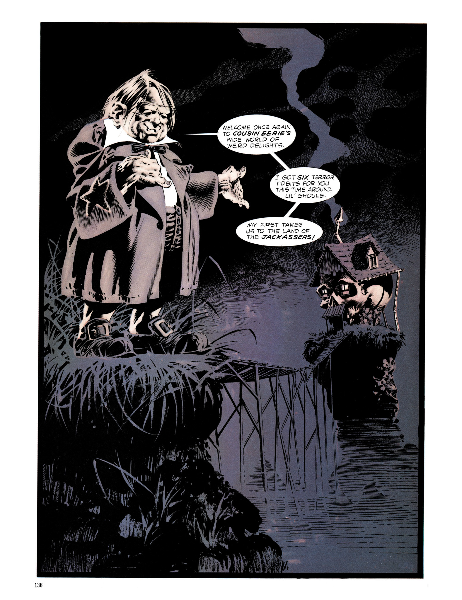Read online Eerie Archives comic -  Issue # TPB 13 - 137