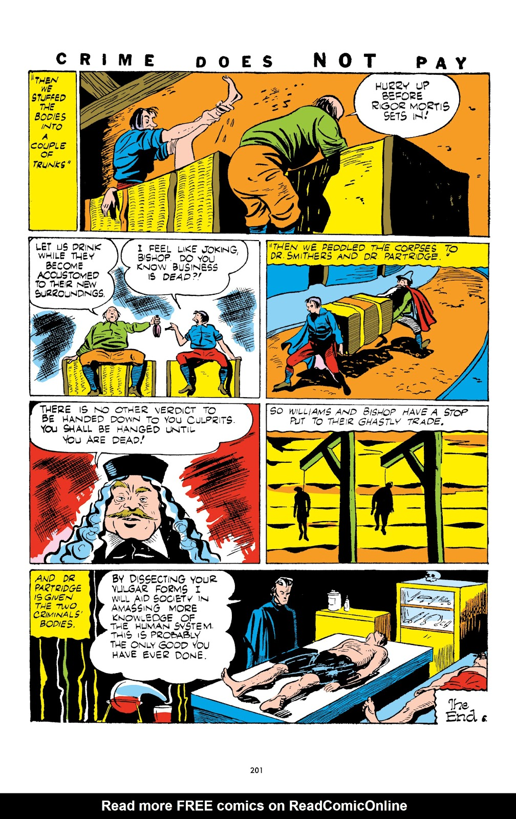 Read online Crime Does Not Pay Archives comic -  Issue # TPB 1 (Part 3) - 4