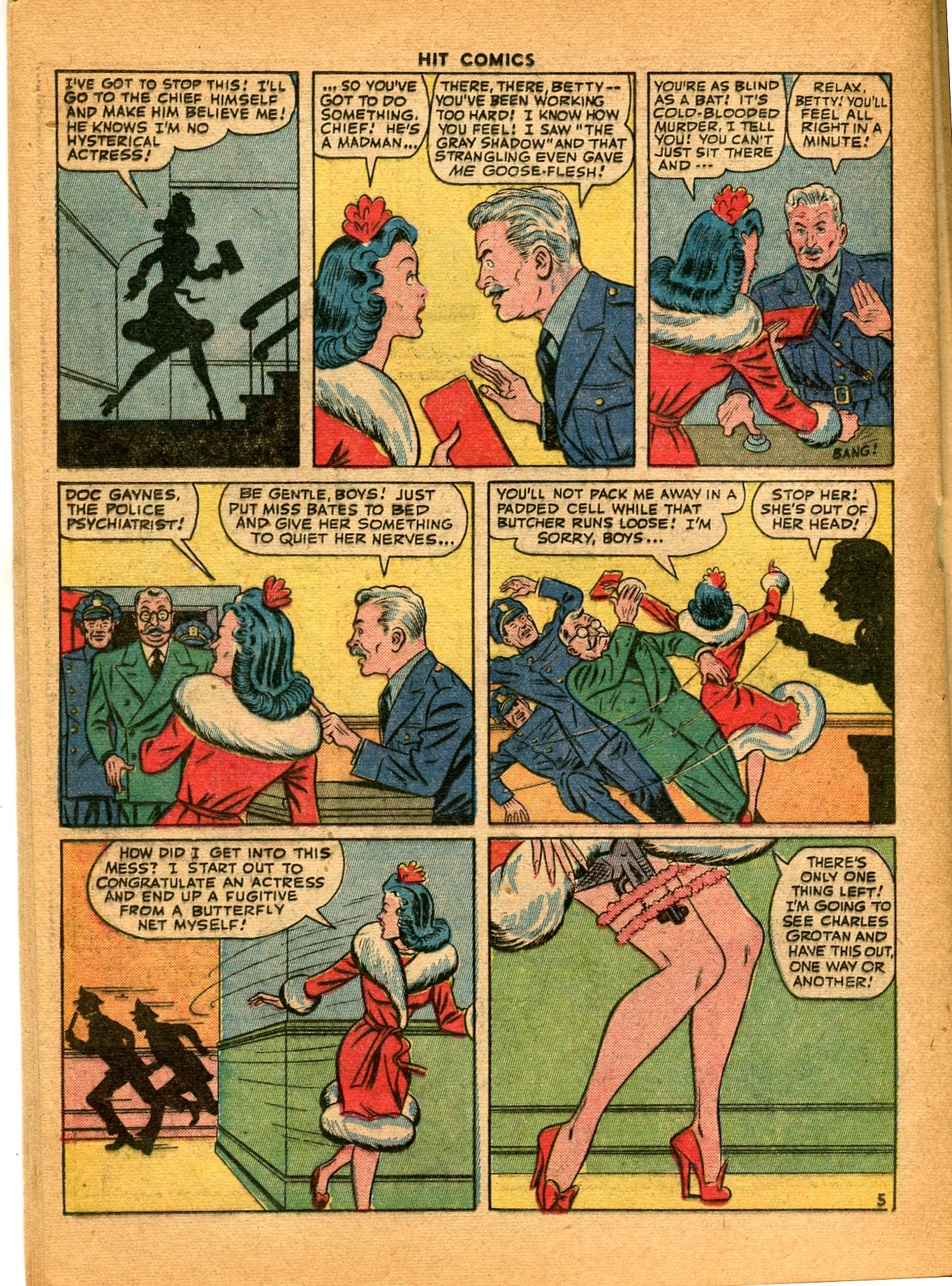 Read online Hit Comics comic -  Issue #35 - 34
