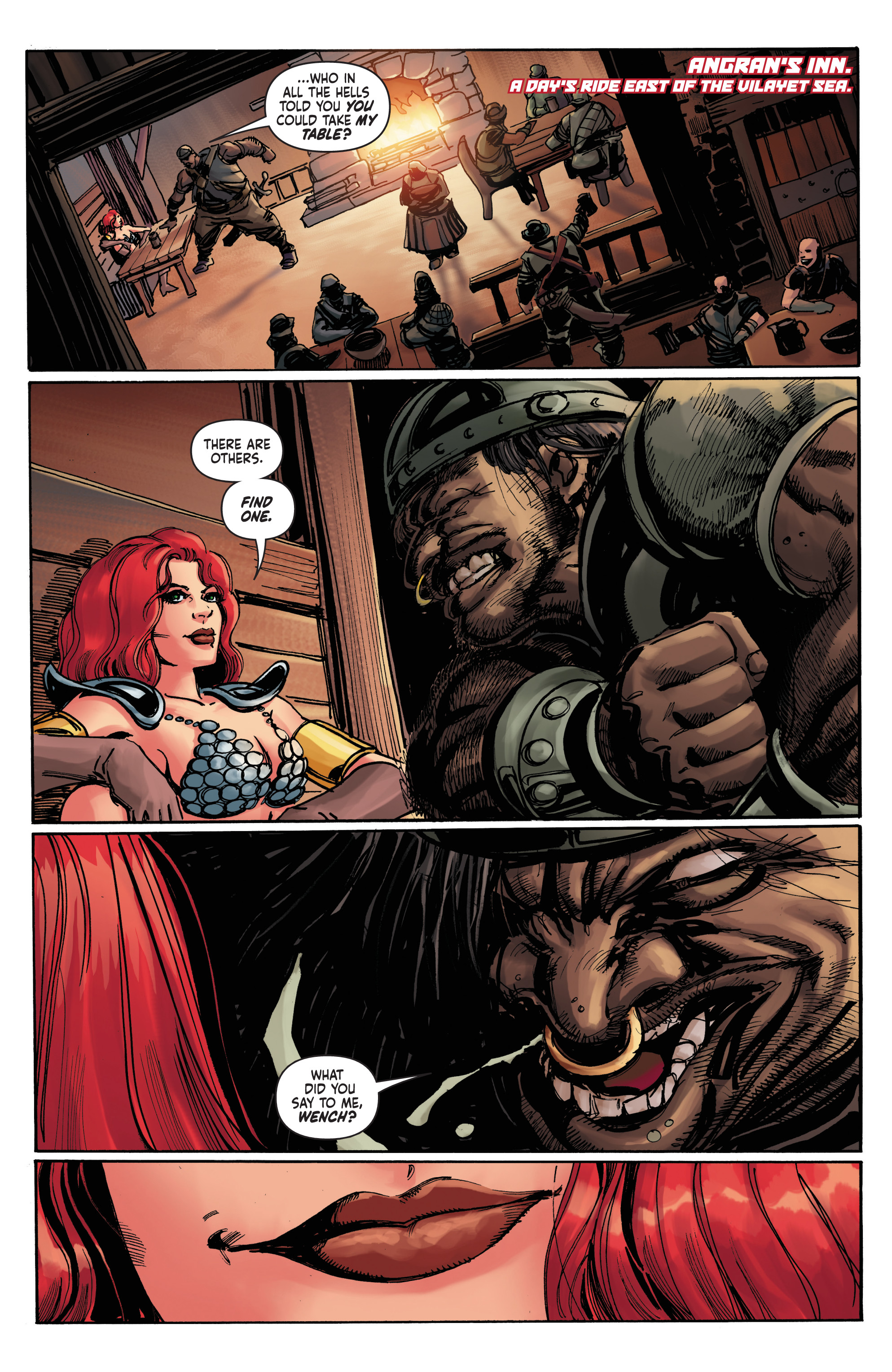Read online Red Sonja: The Long Walk To Oblivion comic -  Issue # Full - 4