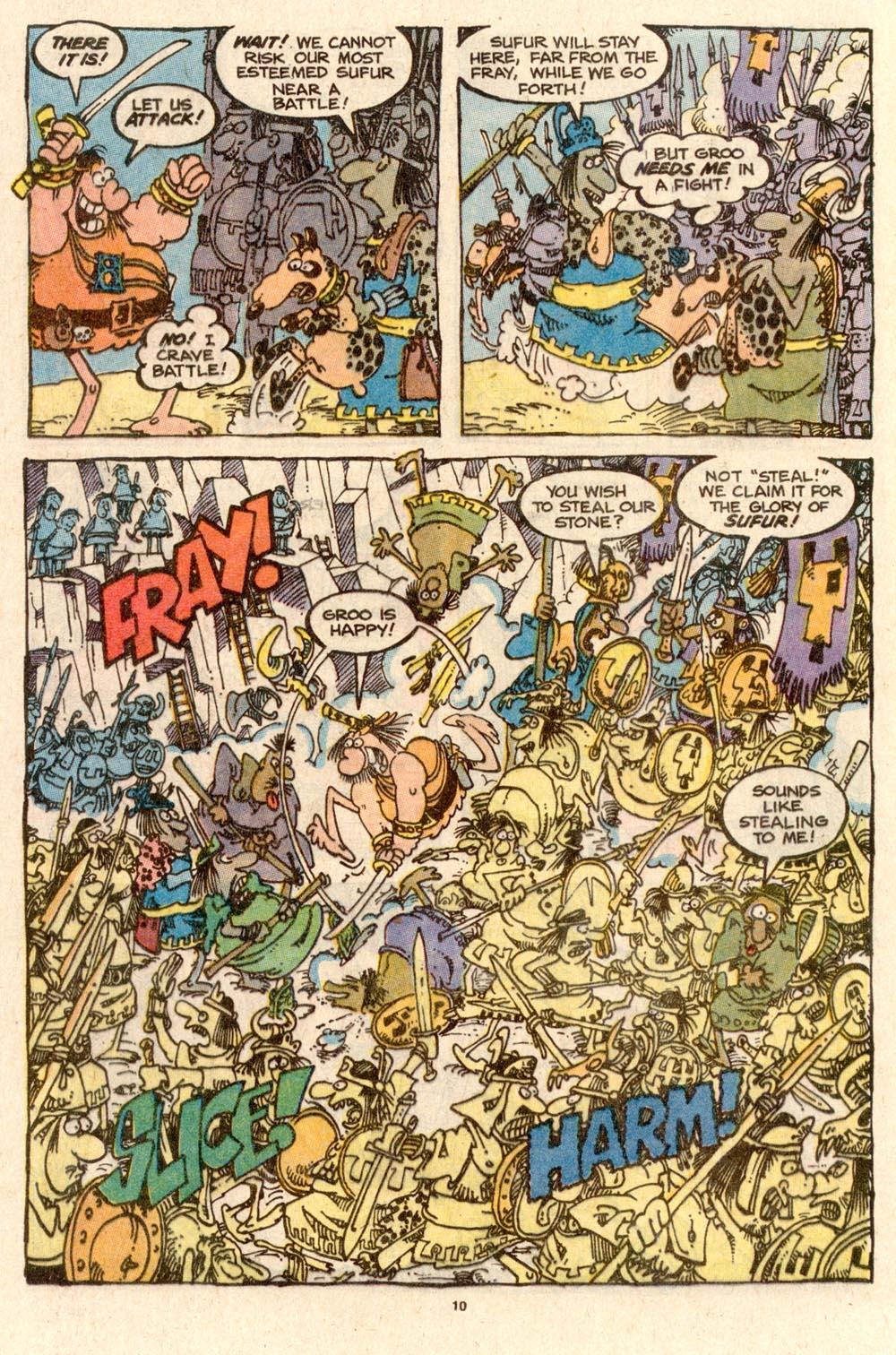 Read online Sergio Aragonés Groo the Wanderer comic -  Issue #58 - 10
