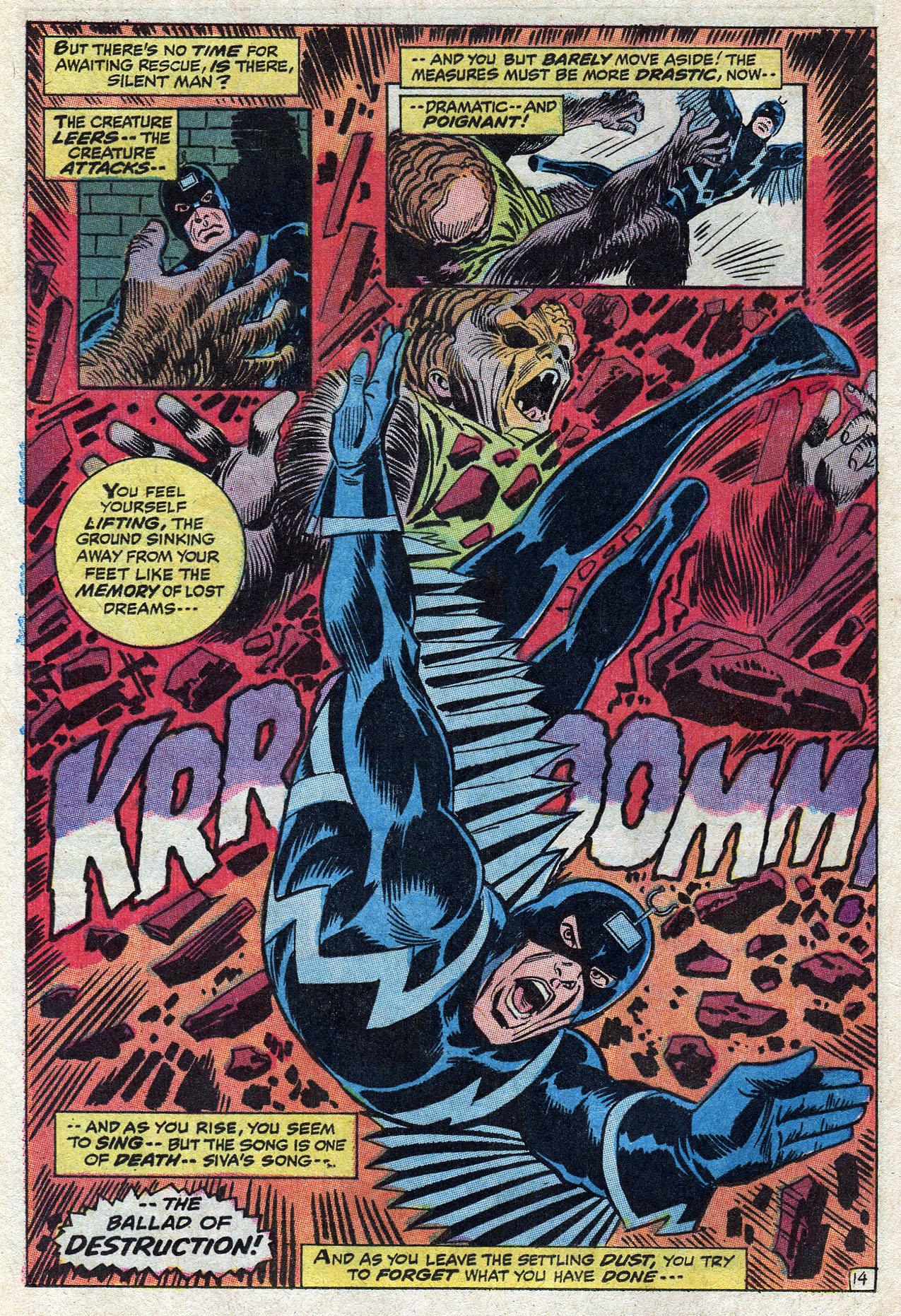 Read online Amazing Adventures (1970) comic -  Issue #10 - 20