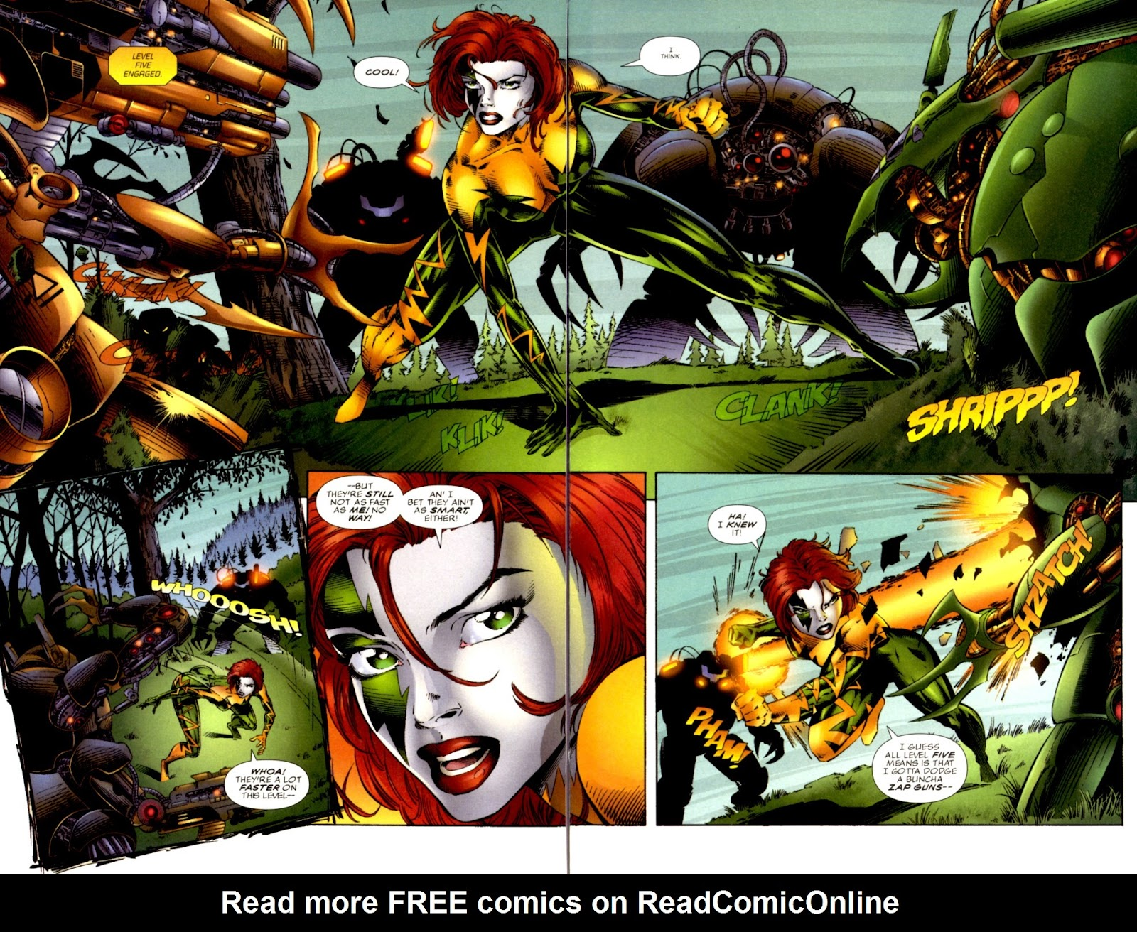 Read online Cyberforce (1993) comic -  Issue # Annual 1 - 4