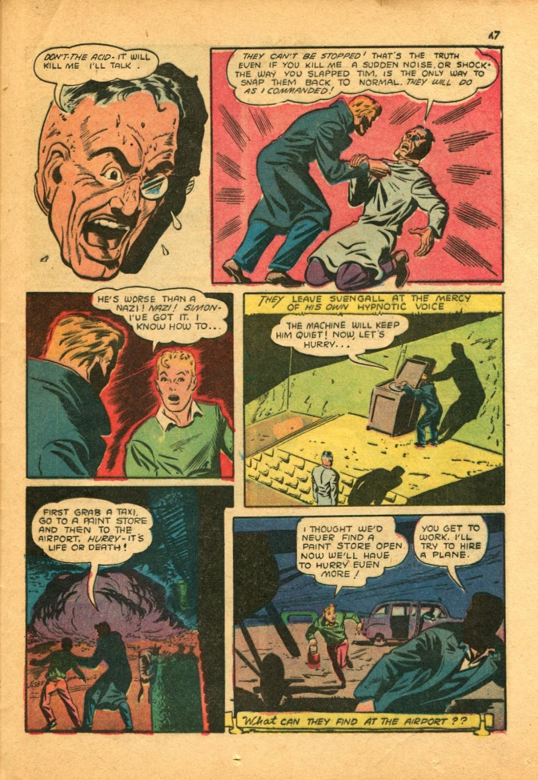 Read online Super-Magician Comics comic -  Issue #11 - 47