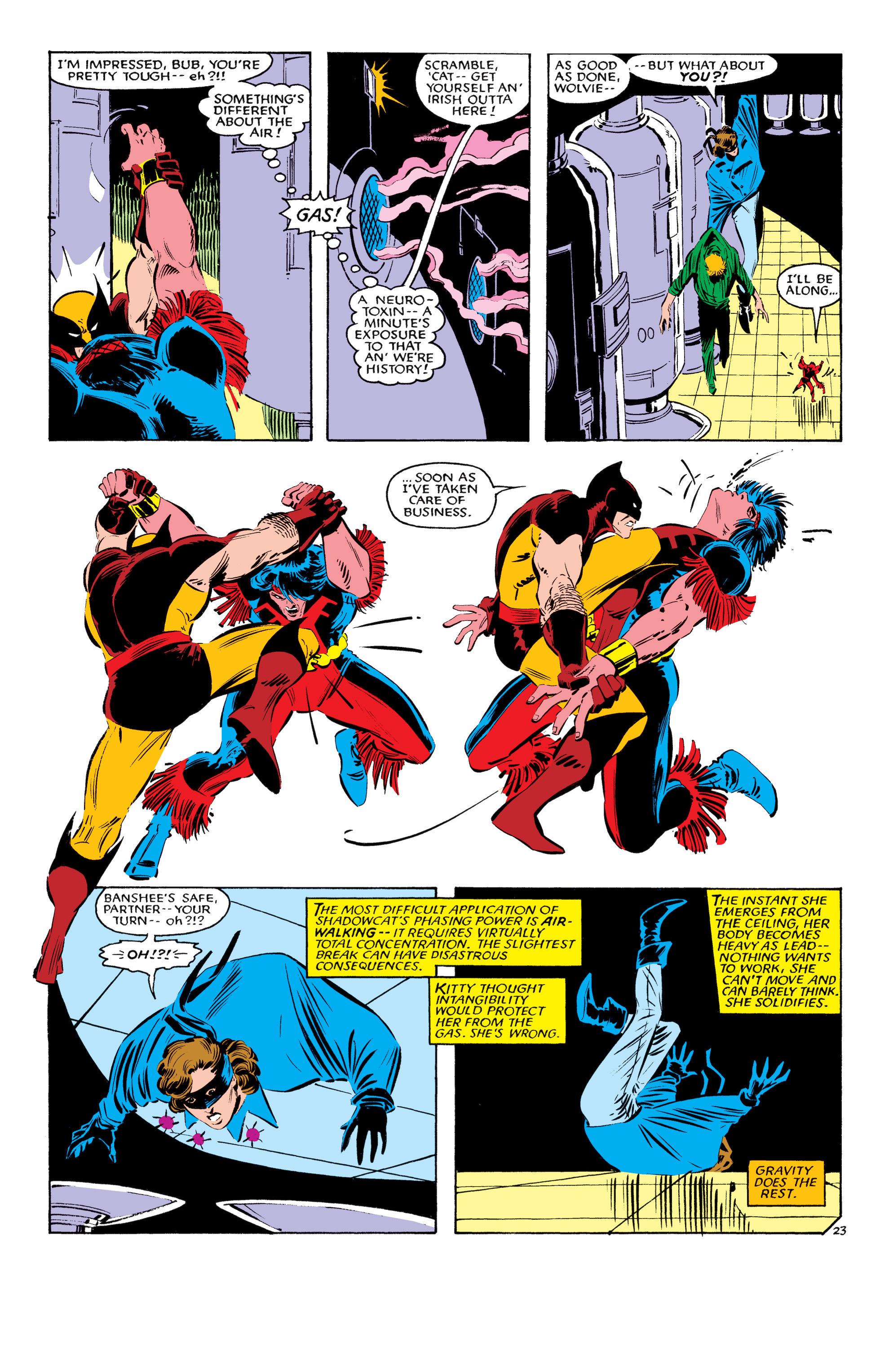 Read online Uncanny X-Men (1963) comic -  Issue #193 - 24