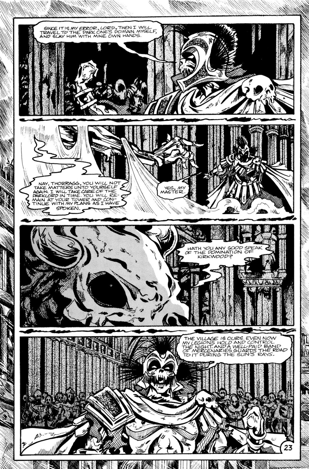 The Realm (1986) issue 9 - Page 25
