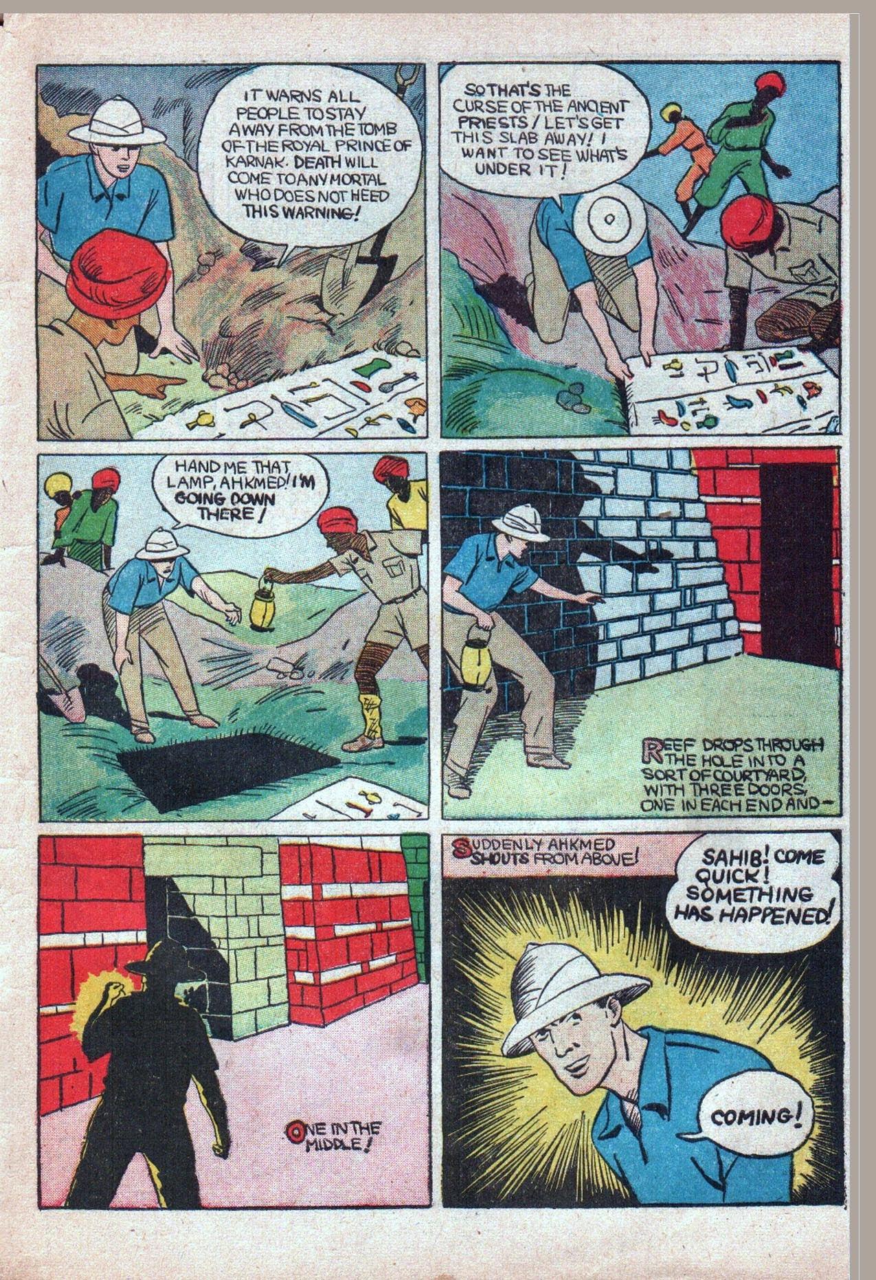 Read online Amazing Man Comics comic -  Issue #20 - 54