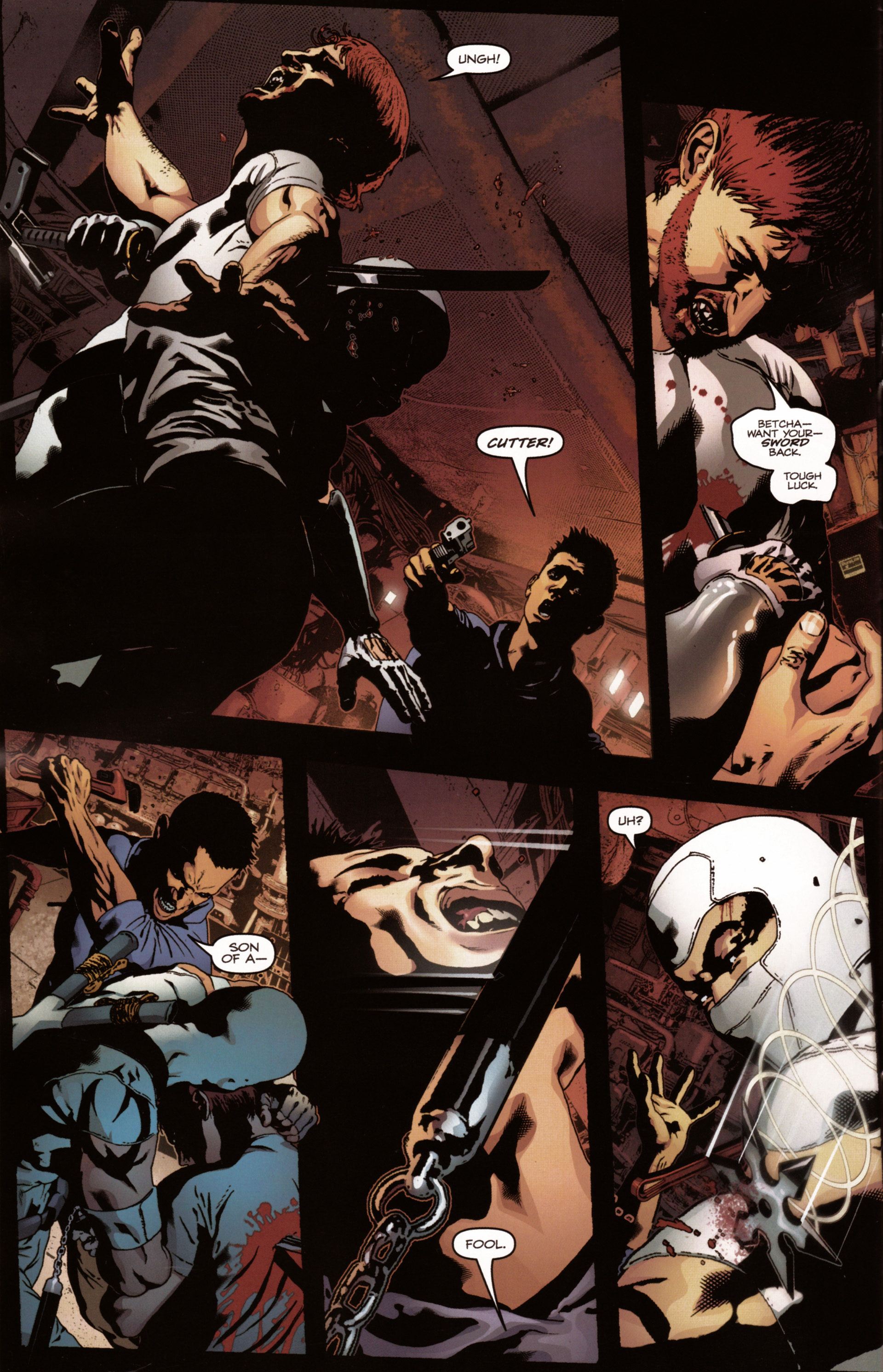Read online Snake Eyes and Storm Shadow comic -  Issue #20 - 20