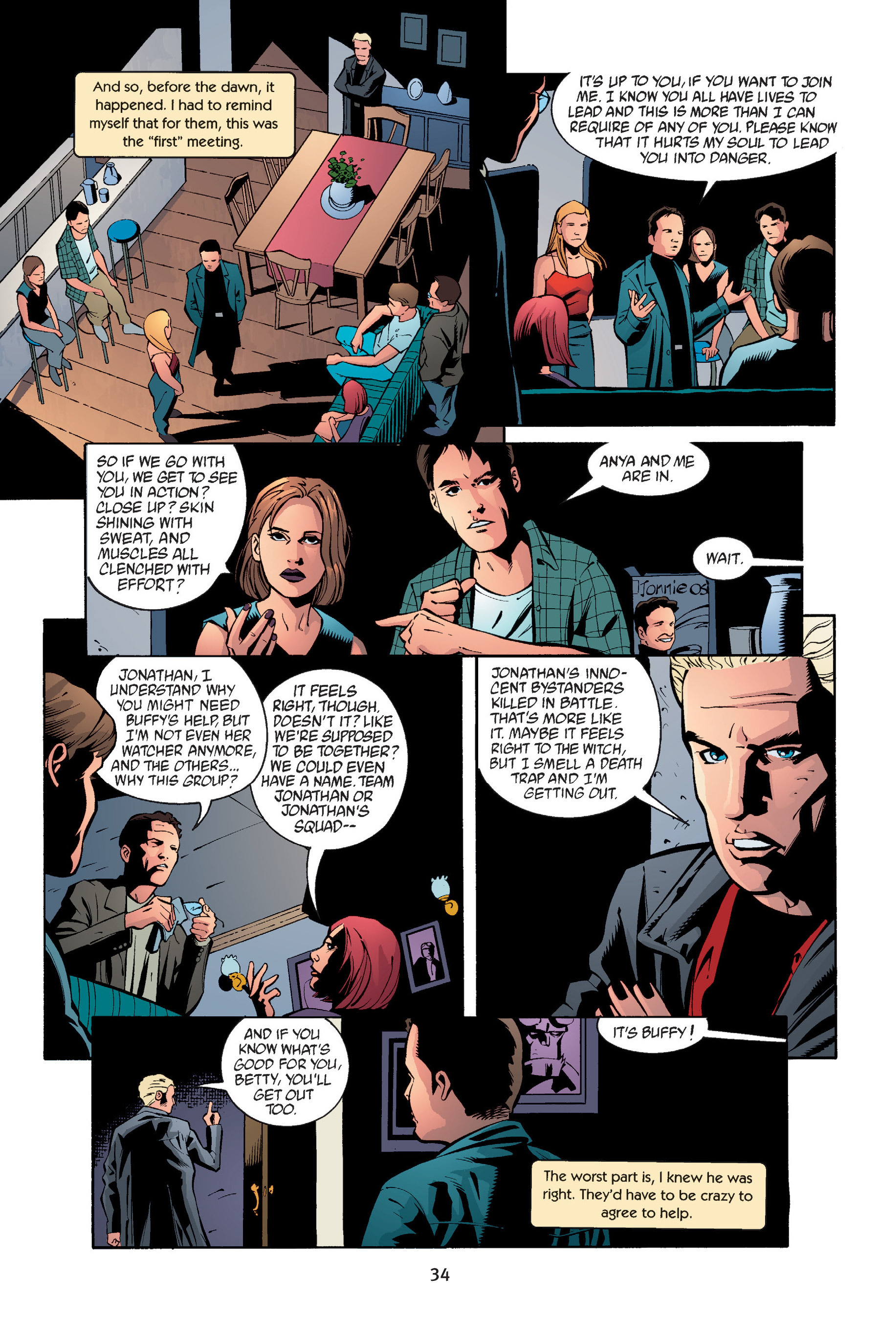 Read online Buffy the Vampire Slayer: Omnibus comic -  Issue # TPB 6 - 35