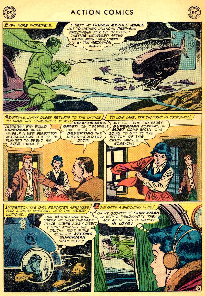 Read online Action Comics (1938) comic -  Issue #244 - 8