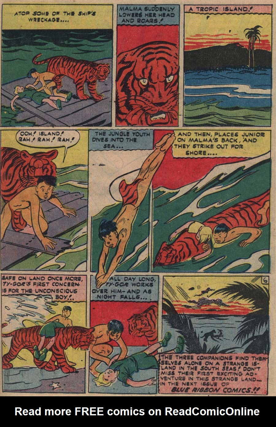Blue Ribbon Comics (1939) issue 18 - Page 42