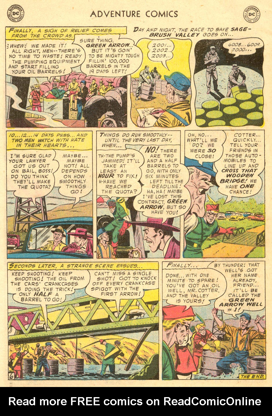 Read online Adventure Comics (1938) comic -  Issue #229 - 32
