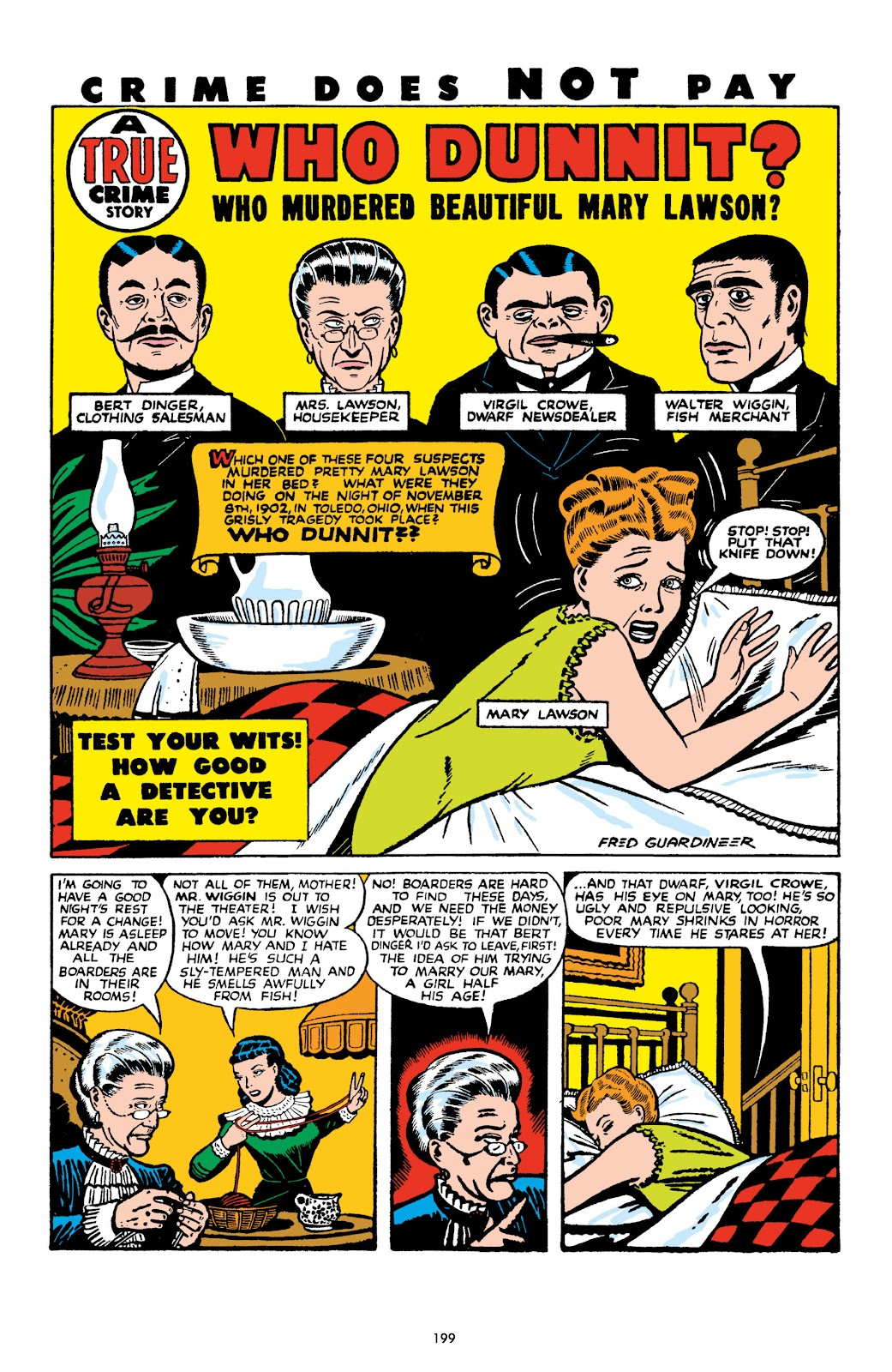 Read online Crime Does Not Pay Archives comic -  Issue # TPB 10 (Part 2) - 100