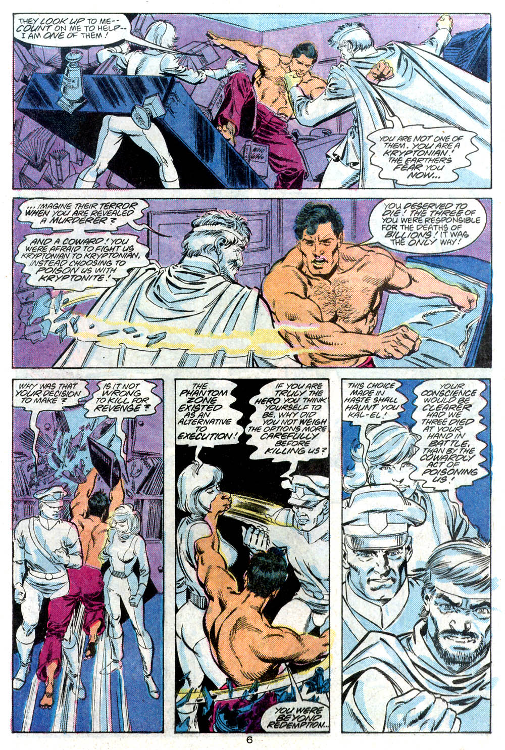 Read online Adventures of Superman (1987) comic -  Issue #446 - 7