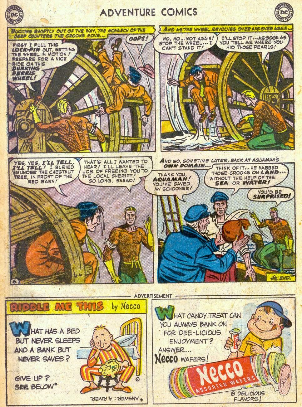 Read online Adventure Comics (1938) comic -  Issue #172 - 22